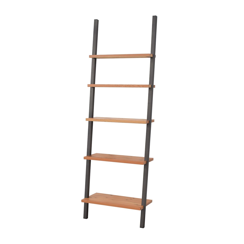 Room & Board Room & Board Gallery Leaning Shelves in Reclaimed Wood nj