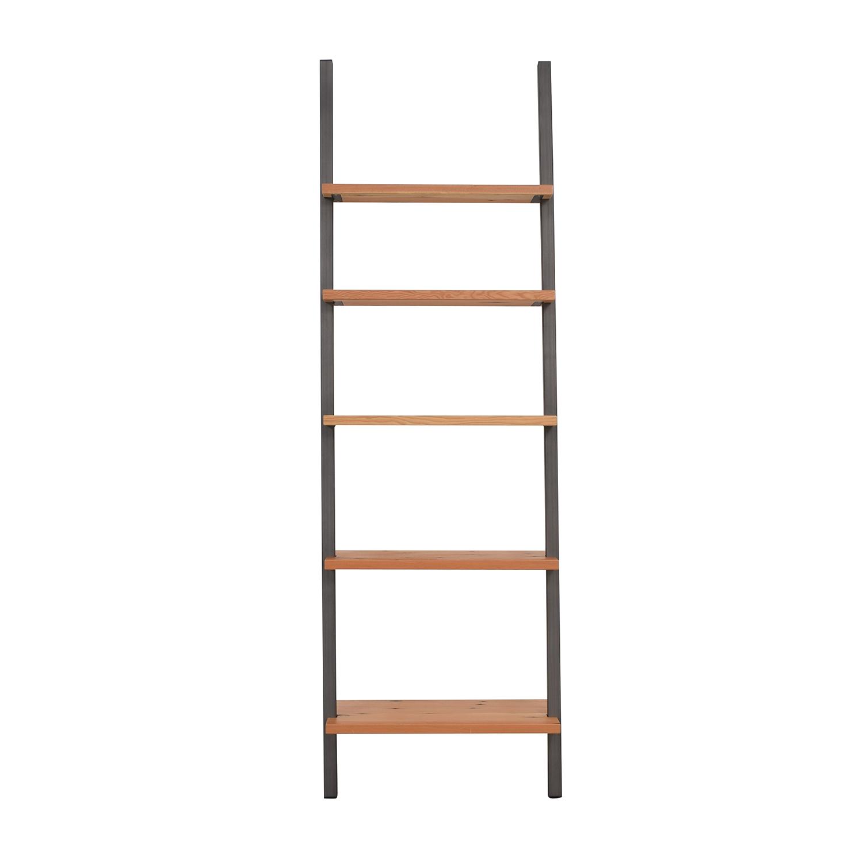 Room & Board Room & Board Gallery Leaning Shelves in Reclaimed Wood used