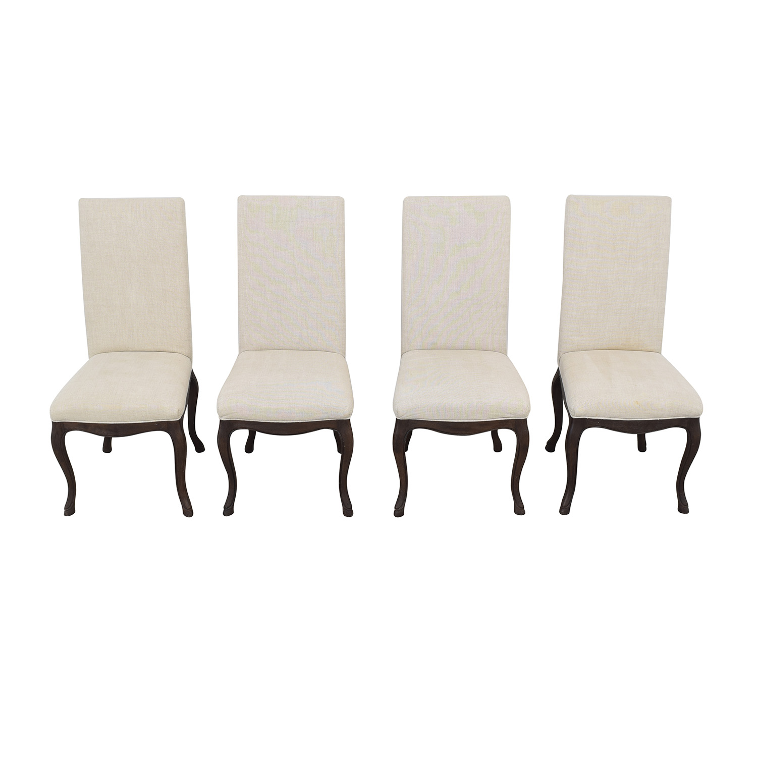 Restoration Hardware Restoration Hardware Louis XV Cabriole Chairs for sale