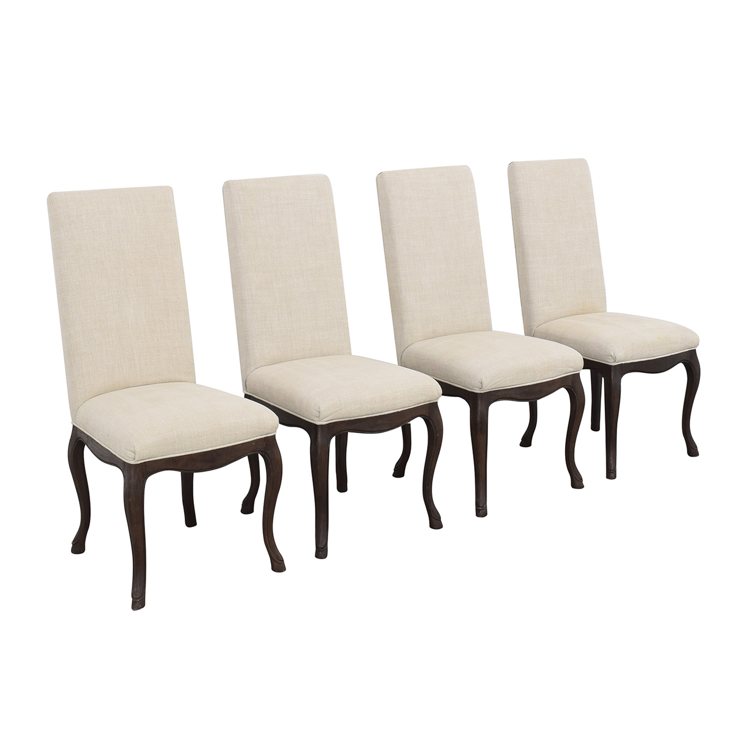 Restoration Hardware Restoration Hardware Louis XV Cabriole Chairs pa