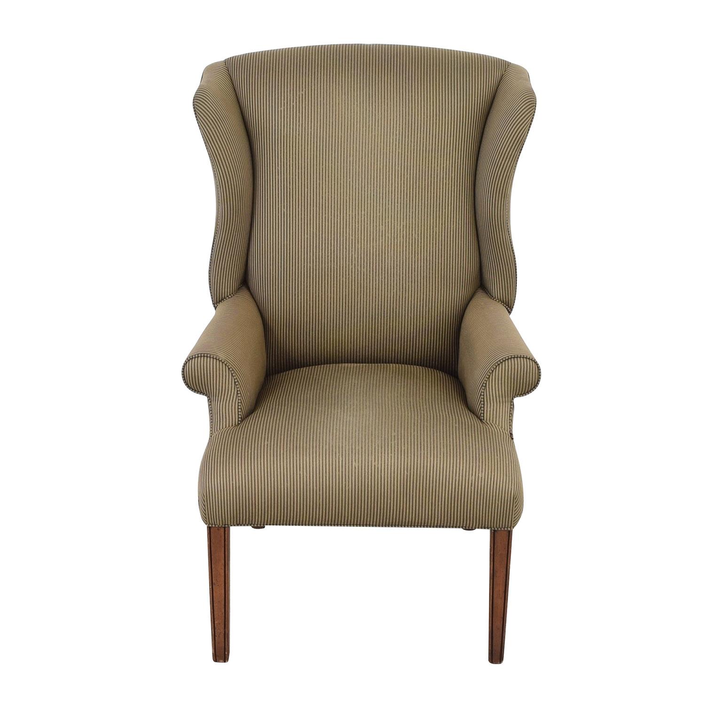 shop Ethan Allen Skylar Wing Chair Ethan Allen