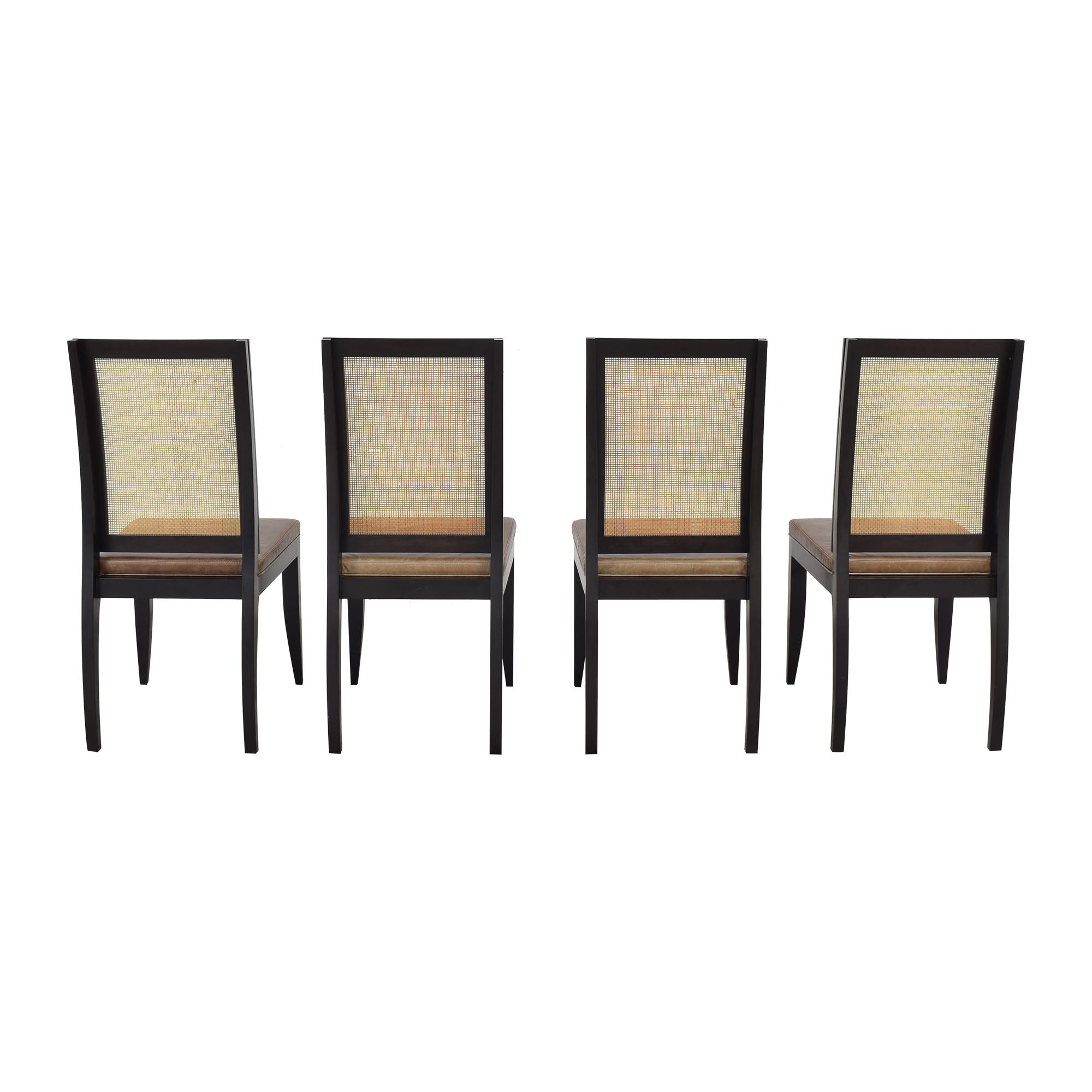 shop Etel Carmona Straw Chairs