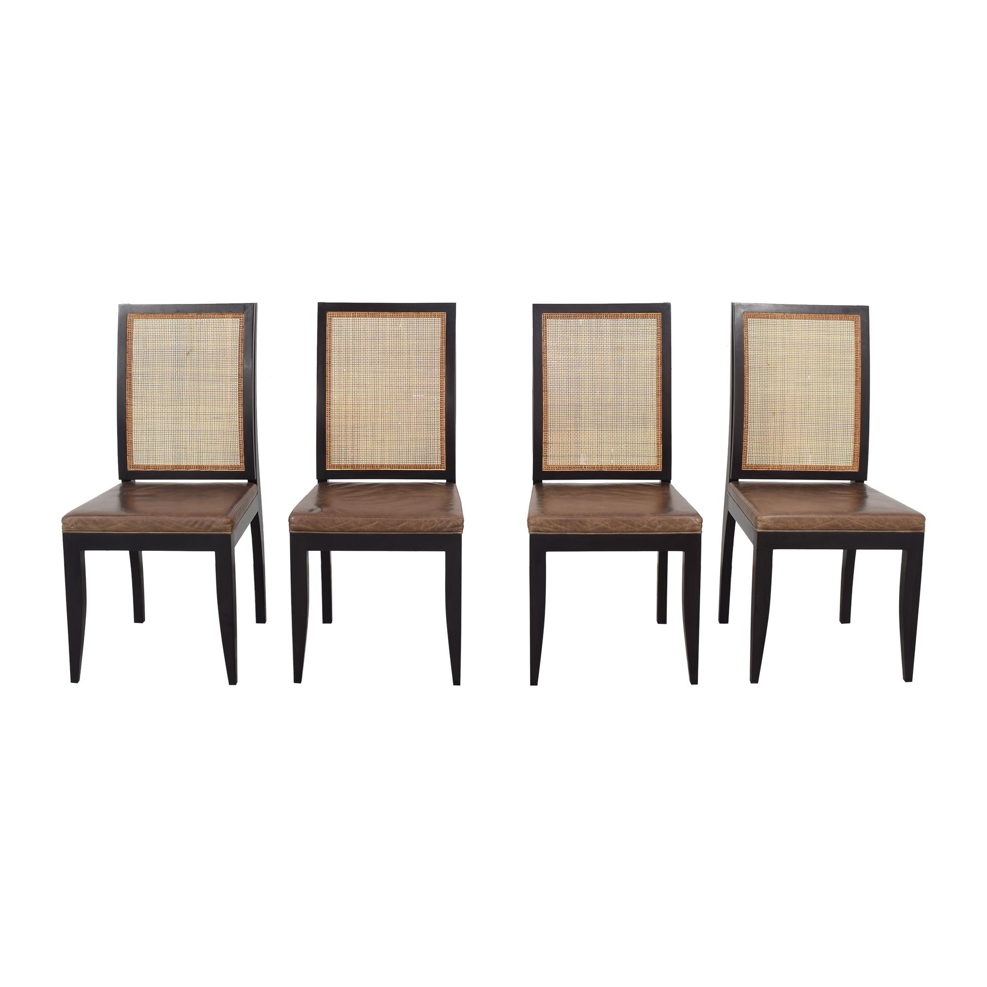 Etel Carmona Straw Chairs discount