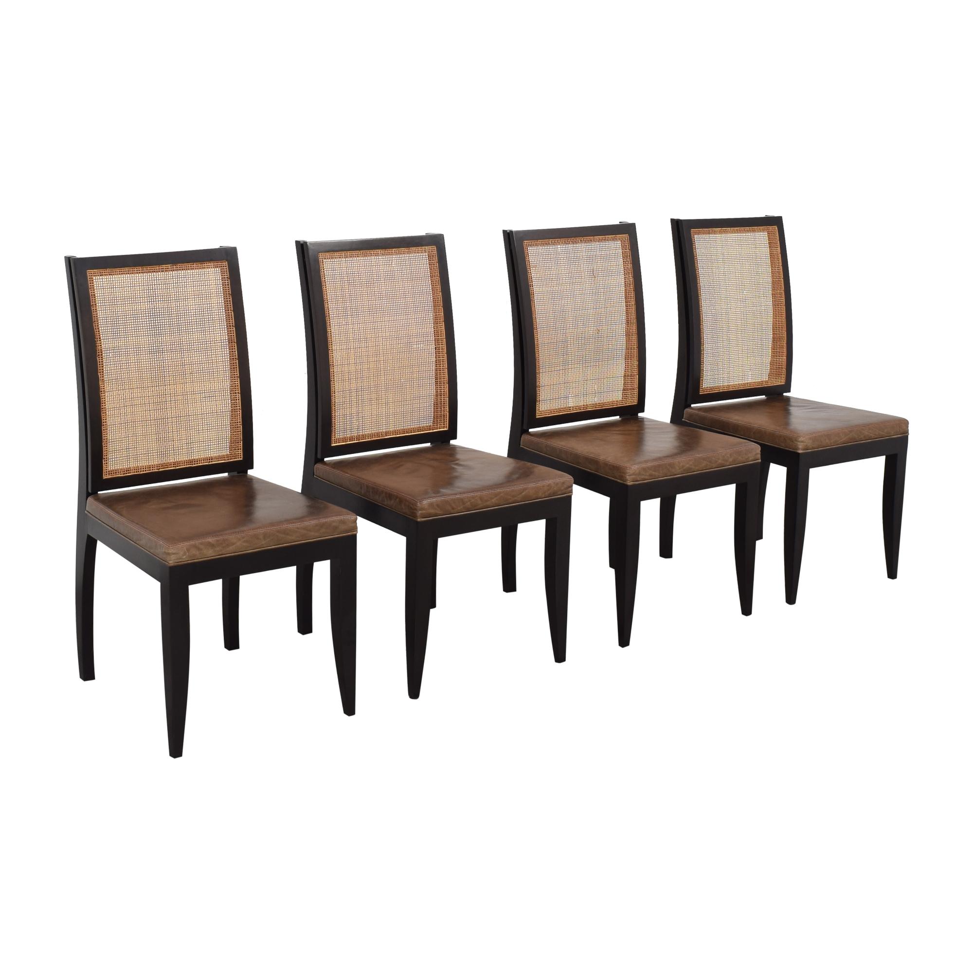 Etel Carmona Straw Chairs