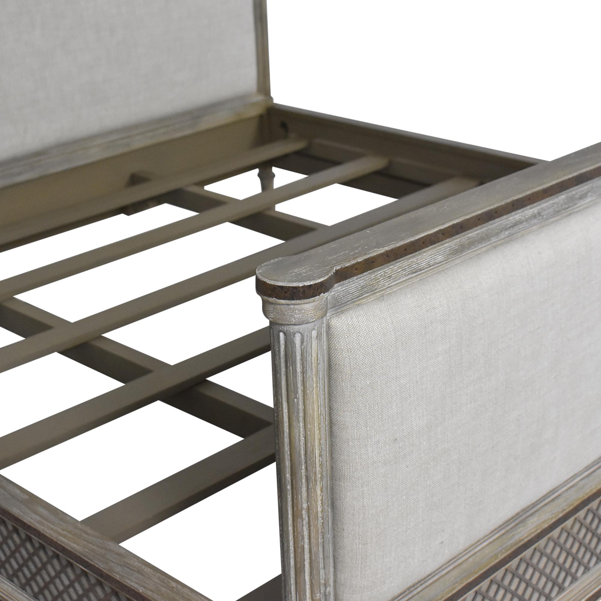 Restoration Hardware Restoration Hardware Louis XVI Treillage King Bed used