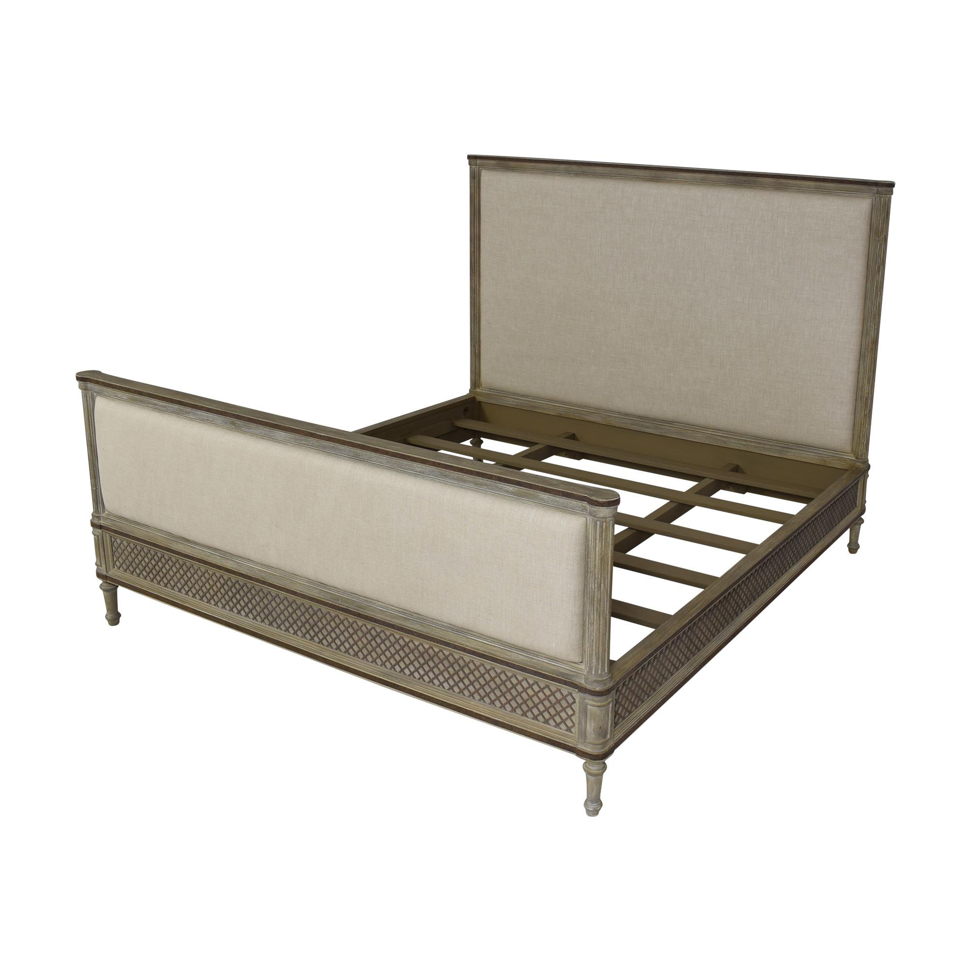 Restoration Hardware Restoration Hardware Louis XVI Treillage King Bed ct