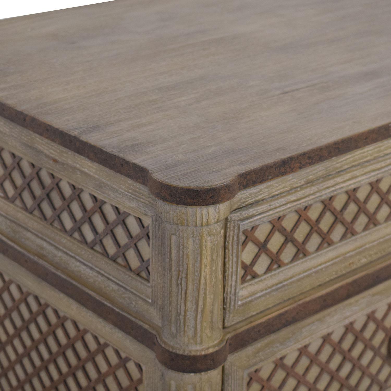 buy Restoration Hardware Louis XVI Treillage Five Drawer Dresser Restoration Hardware Storage