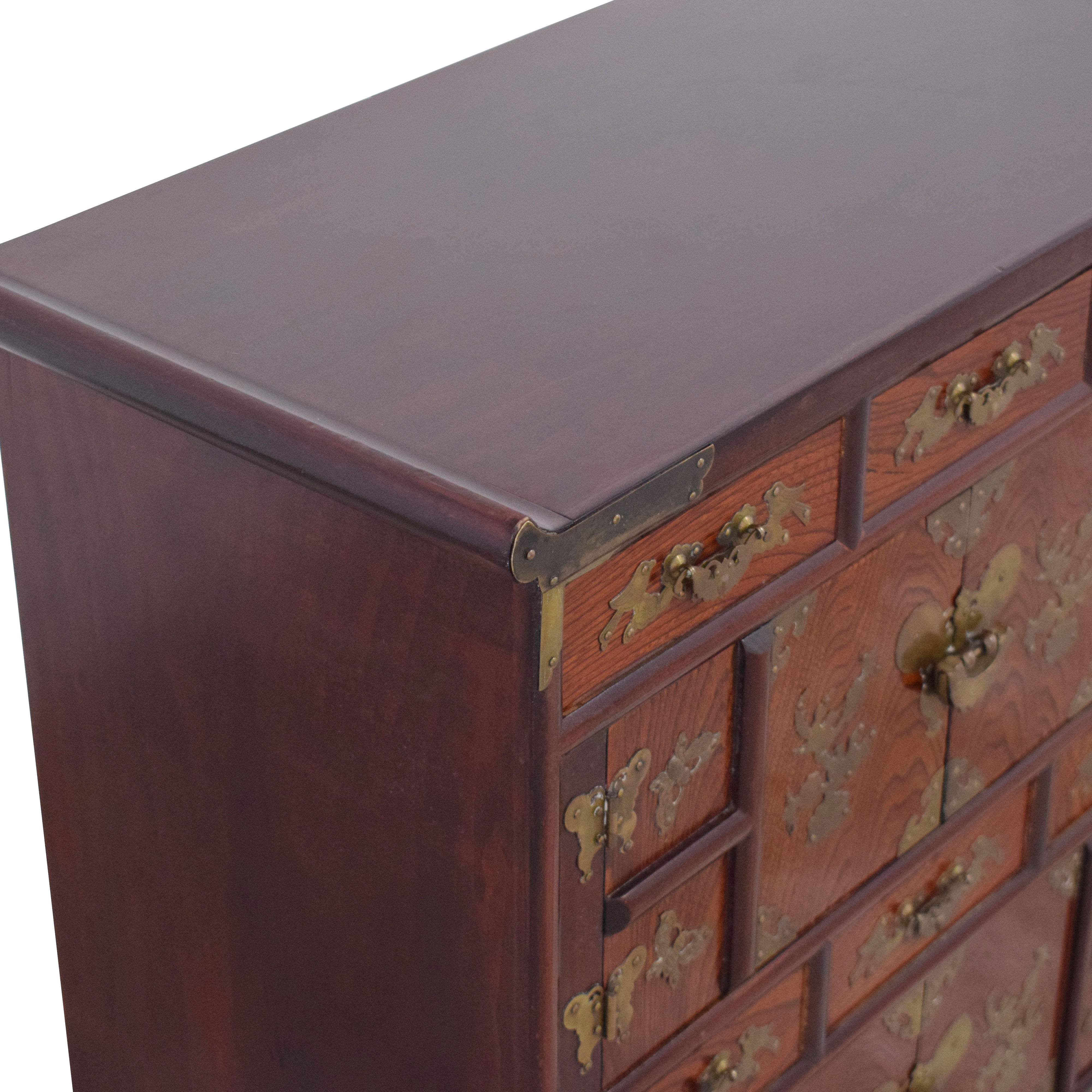 Chinese Apothecary Cabinet ct