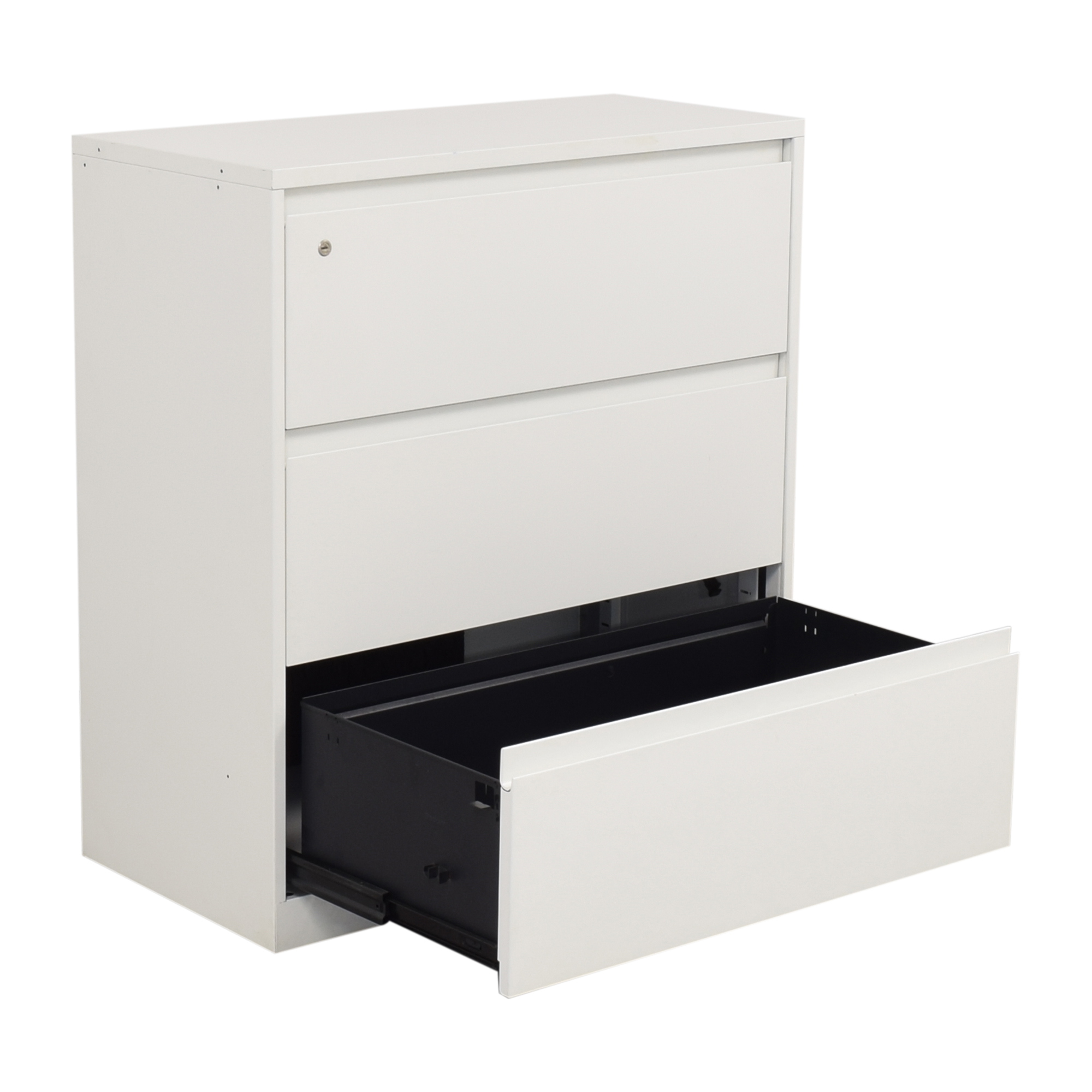 Steelcase Steelcase Three Drawer Lateral Filing Cabinet dimensions