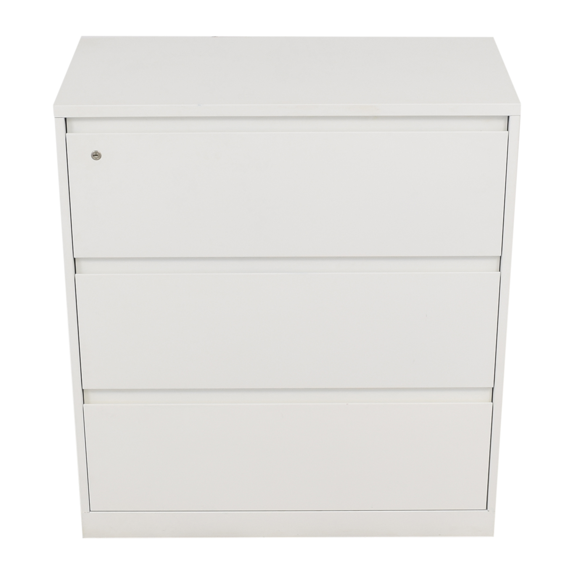 buy Steelcase Three Drawer Lateral Filing Cabinet Steelcase