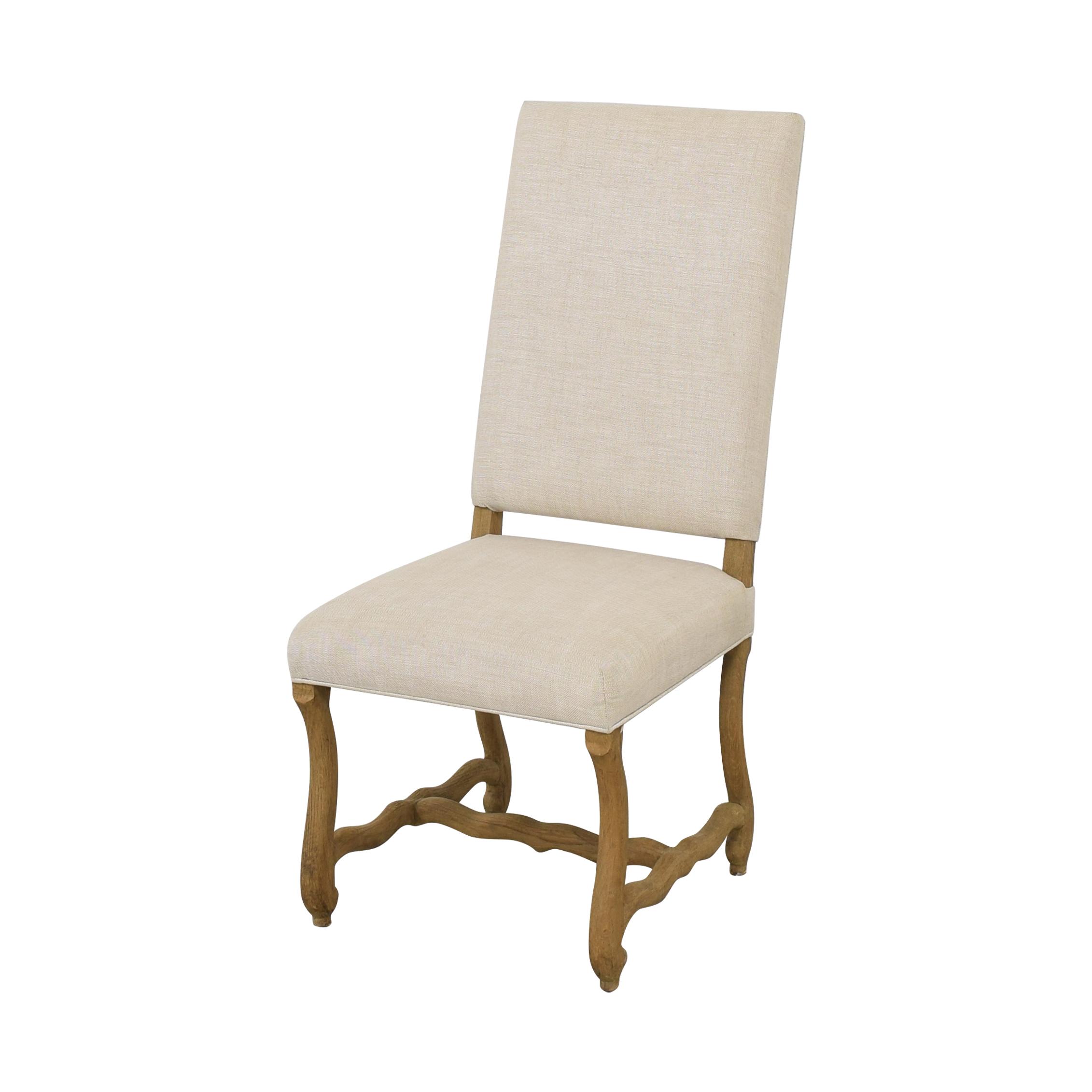 buy Restoration Hardware High Back Dining Chair Restoration Hardware Dining Chairs