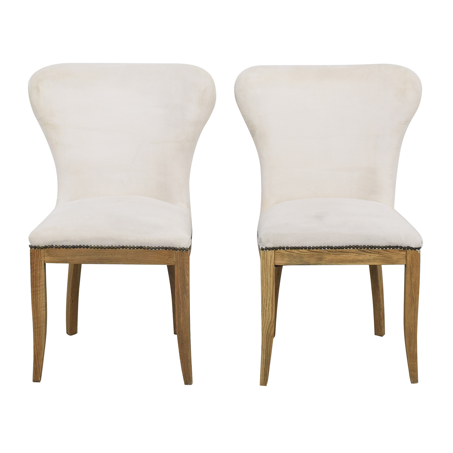 Restoration Hardware Restoration Hardware Upholstered Dining Chairs ct