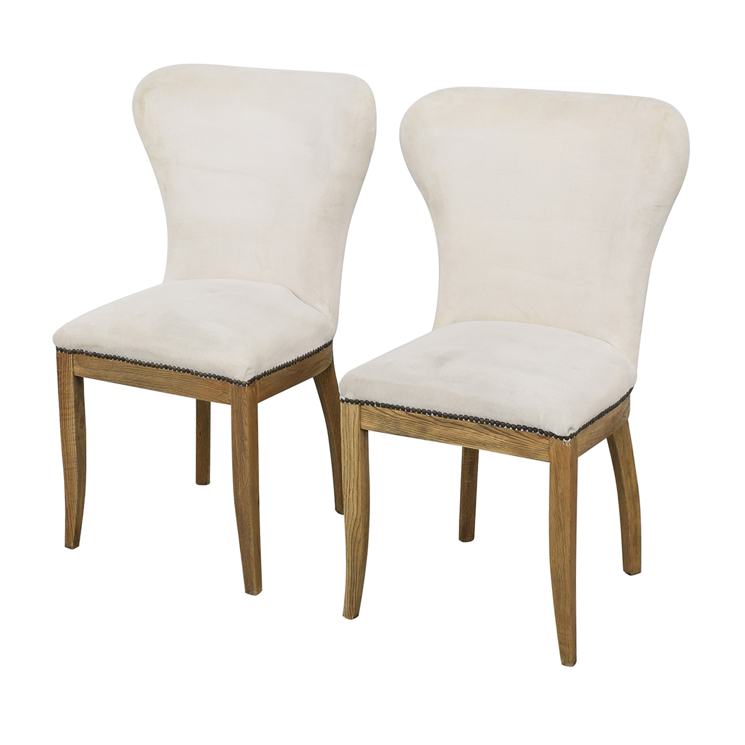 Restoration Hardware Restoration Hardware Upholstered Dining Chairs nyc