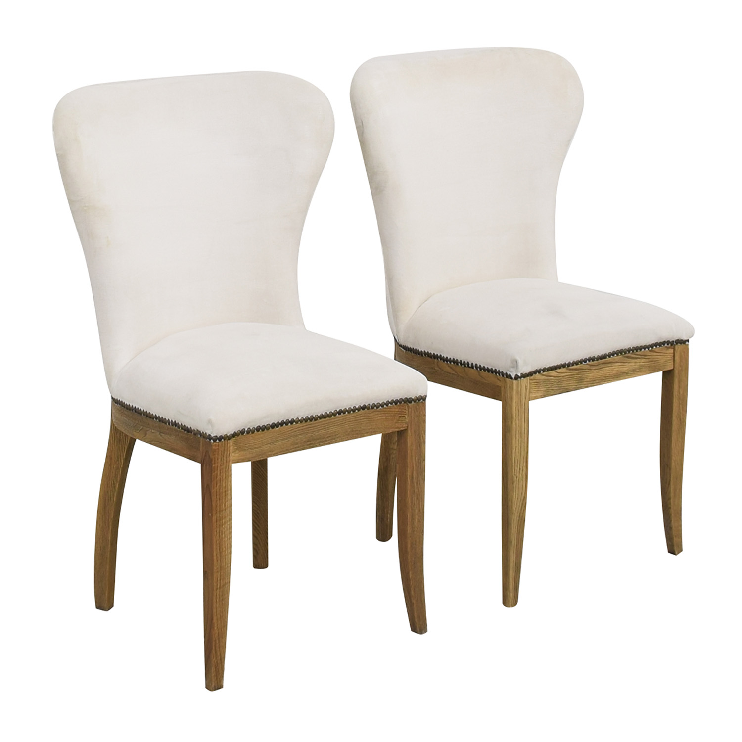 shop Restoration Hardware Restoration Hardware Upholstered Dining Chairs online