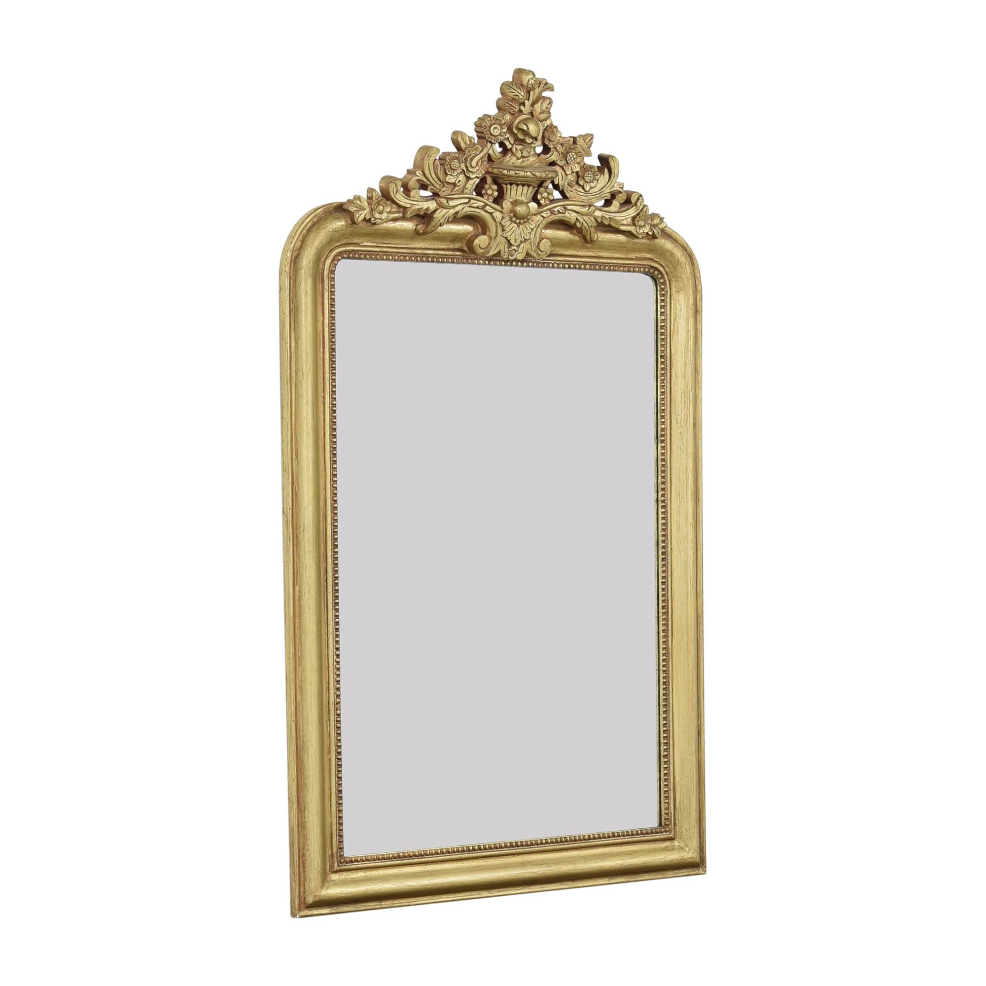 shop Restoration Hardware Louis Philippe Gilt Mirror Restoration Hardware Decor
