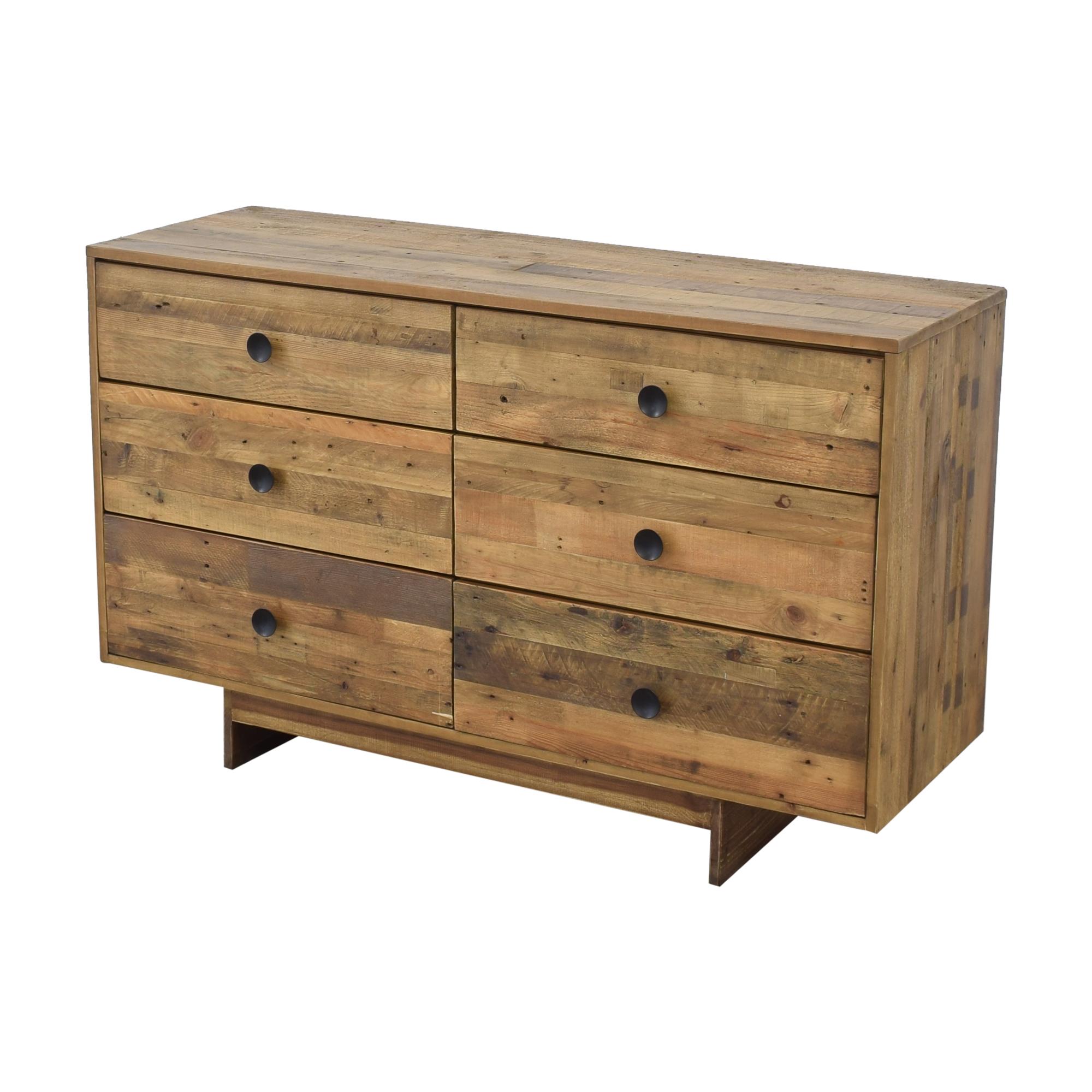 West Elm West Elm Emmerson Reclaimed Six Drawer Dresser used