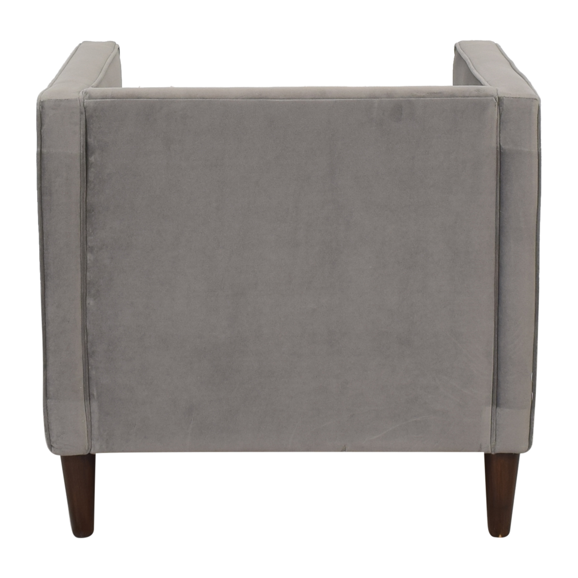The Inside The Inside Tuxedo Chair grey