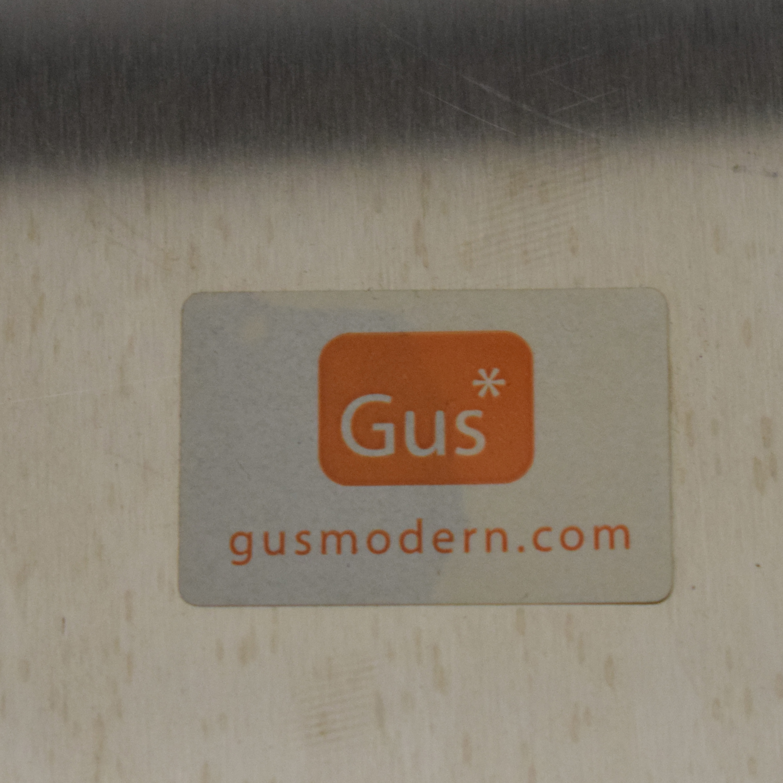 shop Gus Modern Stainless Cube Gus Modern Tables