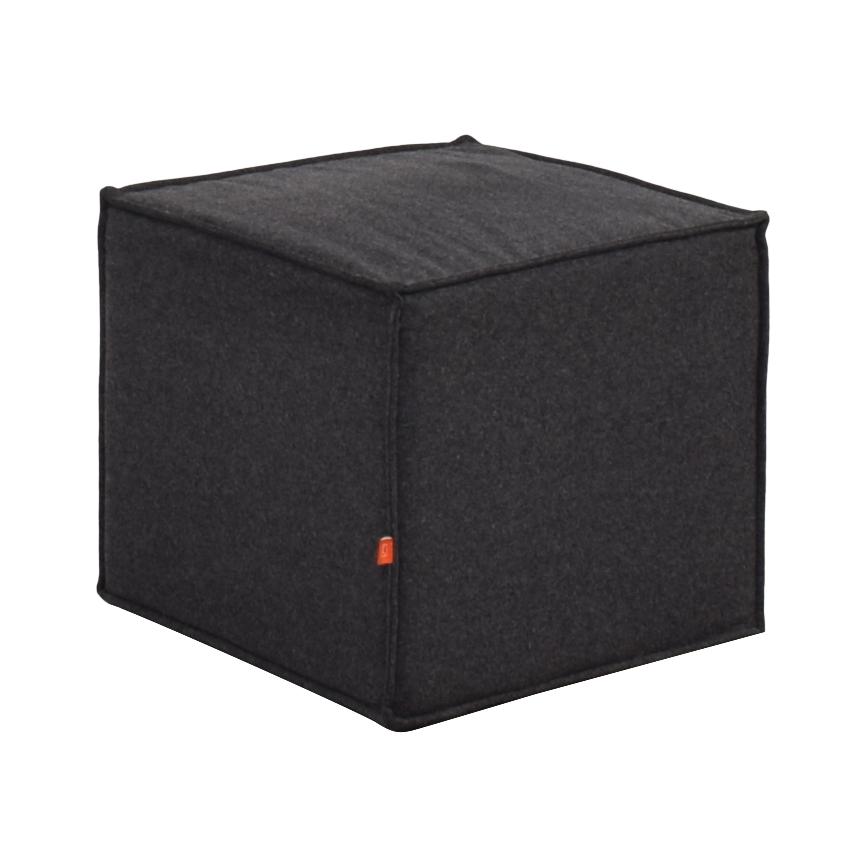 buy Gus Modern Gus Modern Upholstered Cube Ottoman or Stool online