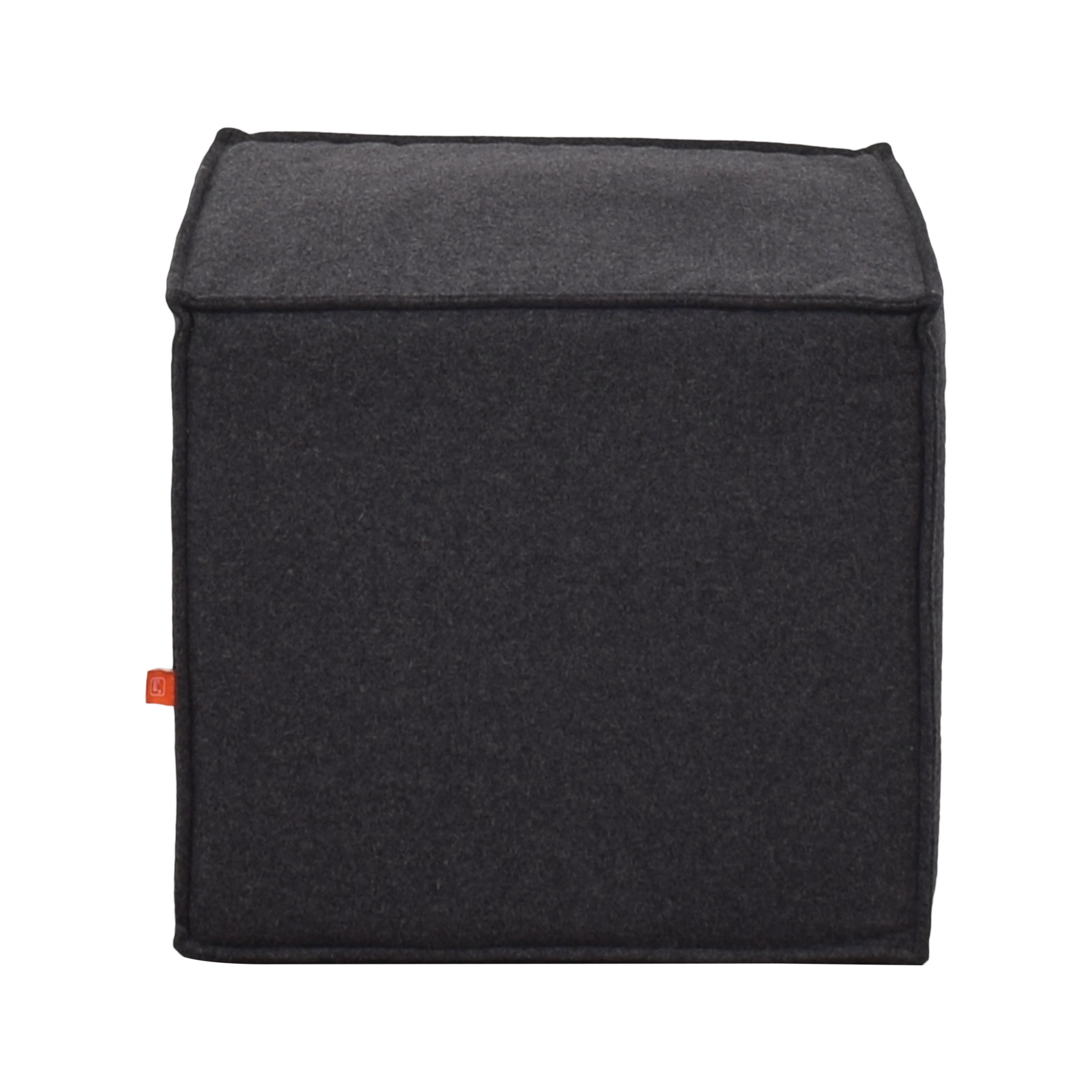 Gus Modern Gus Modern Upholstered Cube Ottoman or Stool nyc