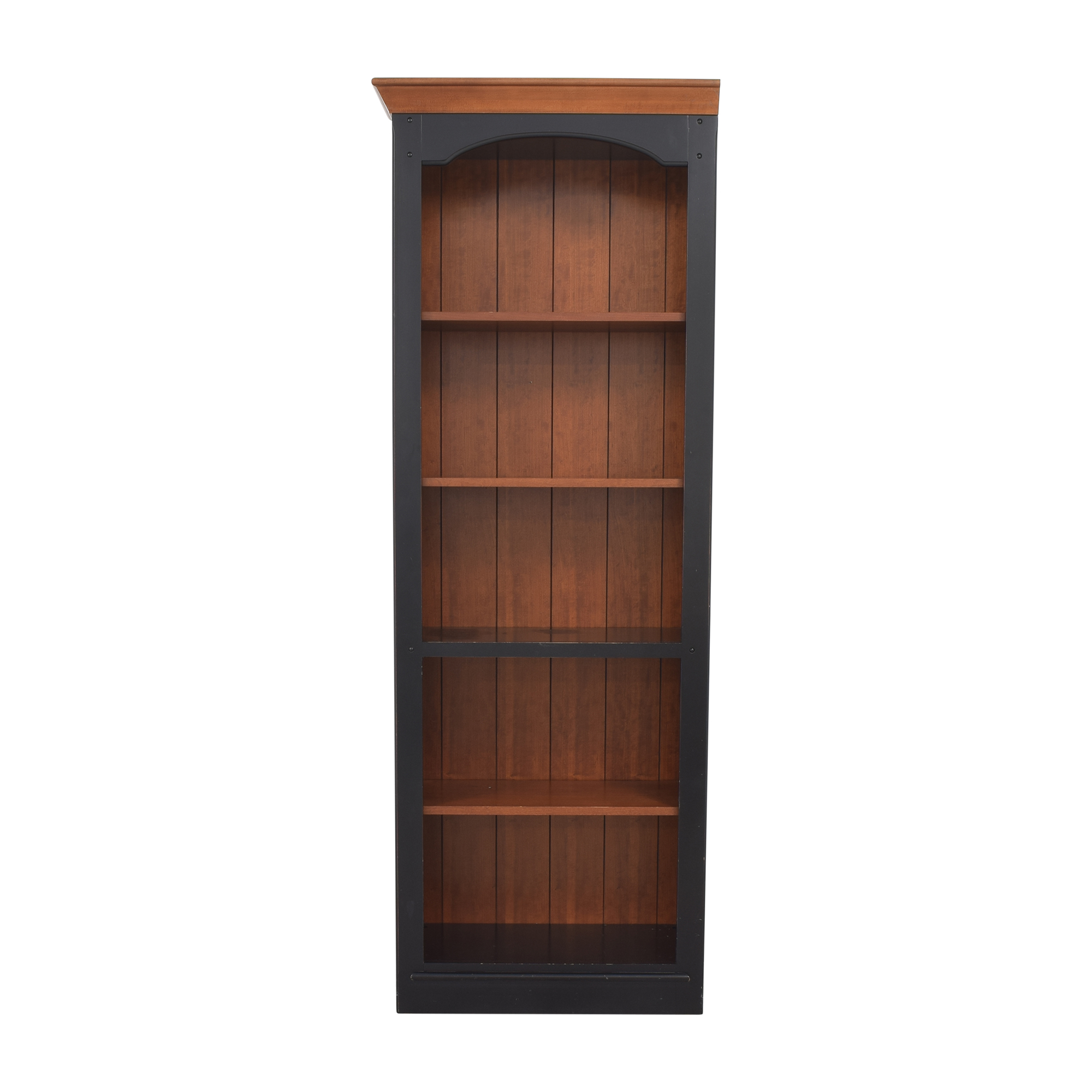 Stickley Furniture Book Shelf with Accent Top / Chairs
