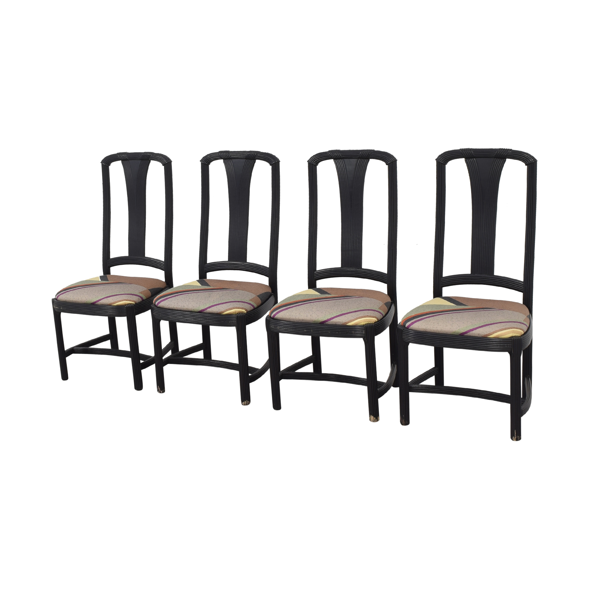 Custom Upholstered Dining Chairs sale