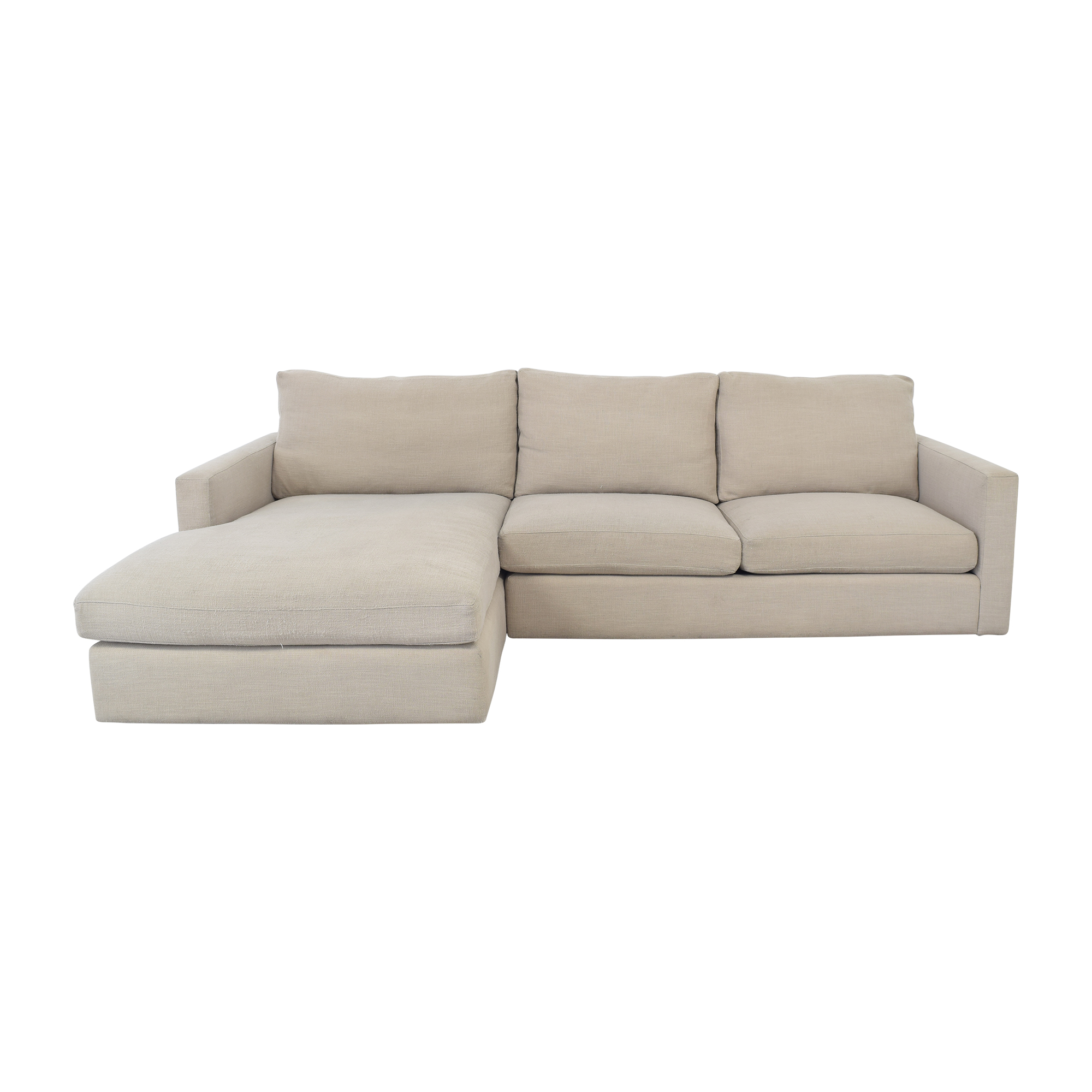 ABC Carpet & Home Cobble Hill Chaise Sectional Sofa Sectionals