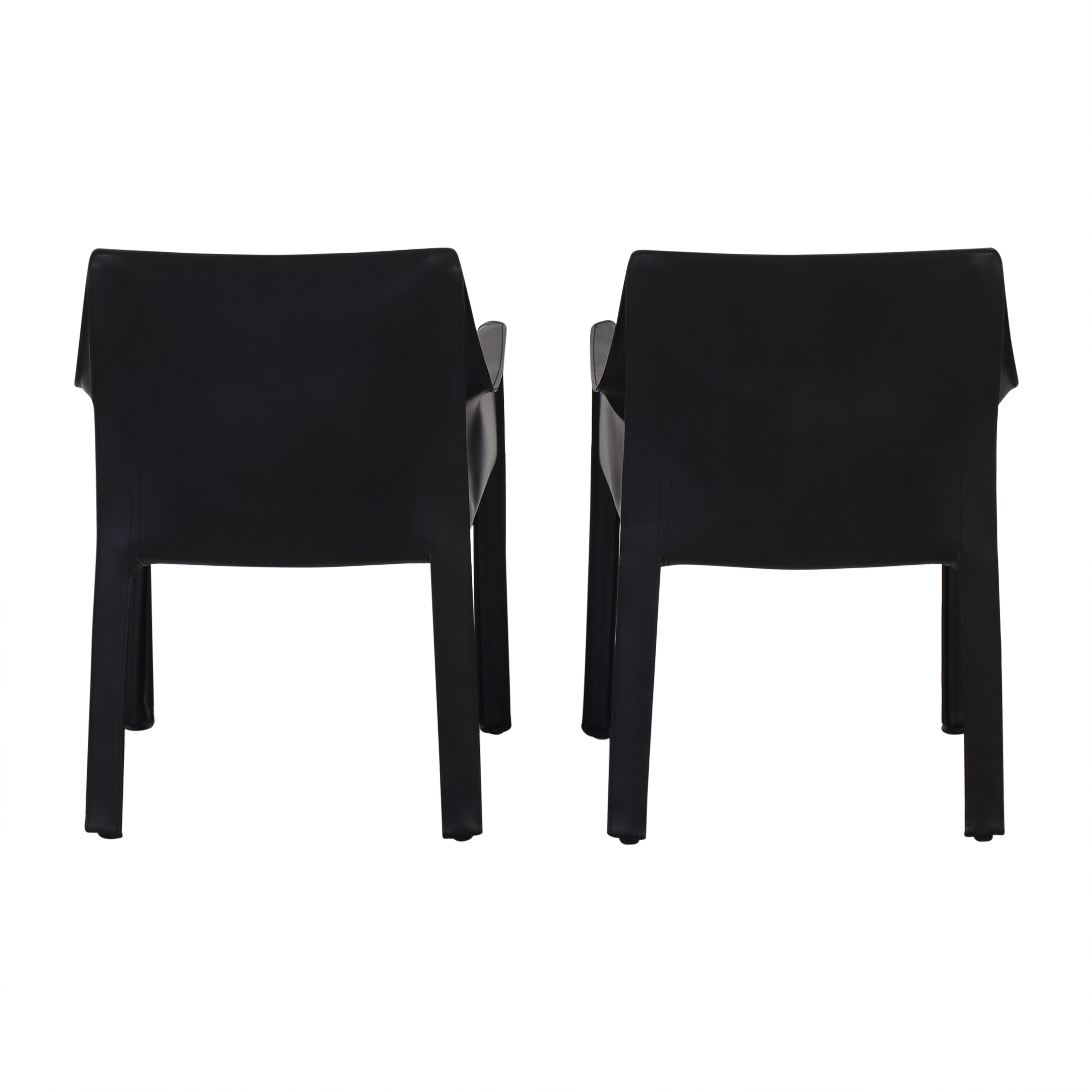 shop Cassina Cassina Mario Bellini Leather Cab Chairs online