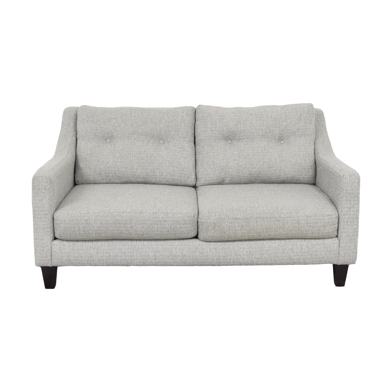 shop Raymour & Flanigan Two Cushion Loveseat Raymour & Flanigan