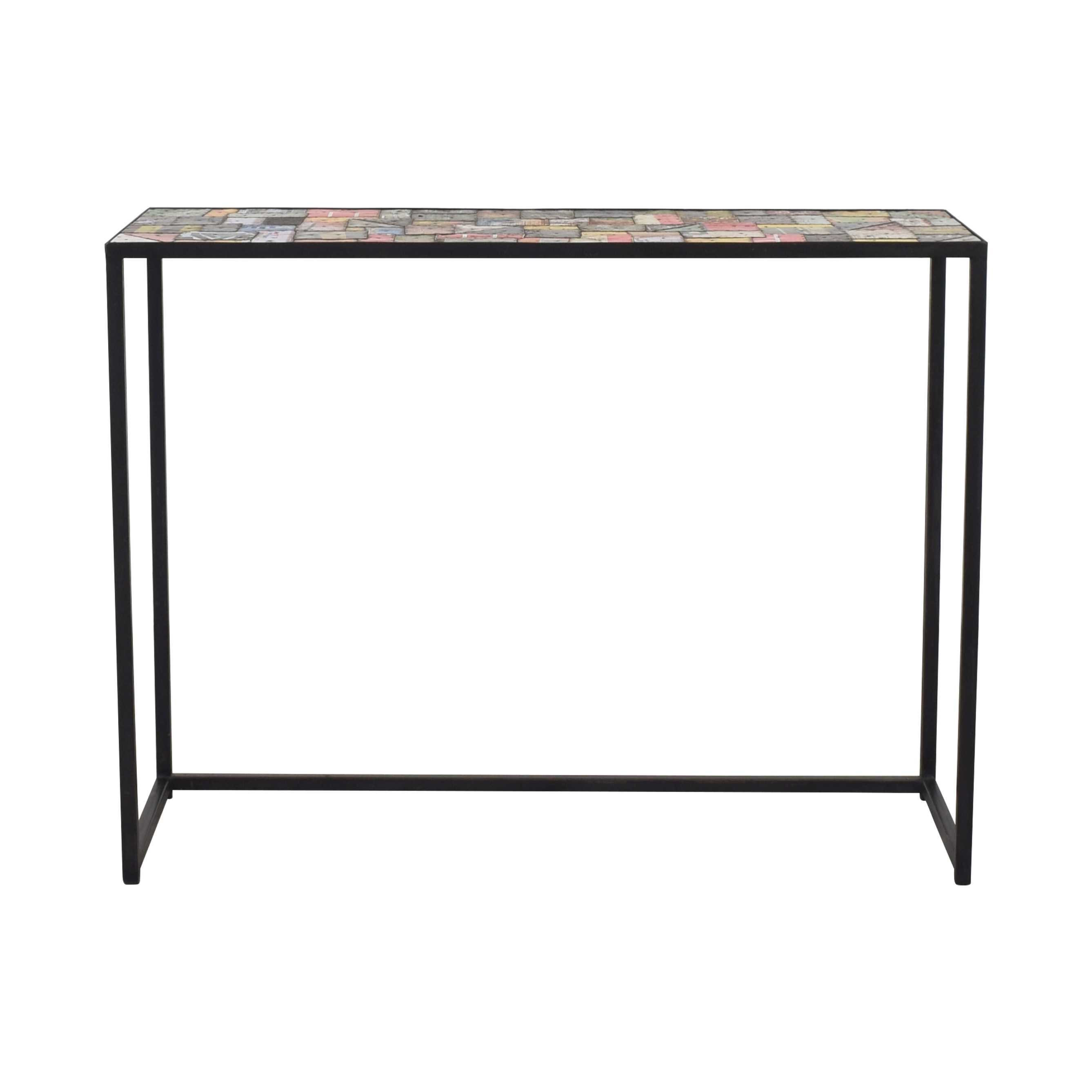 Industrial Accent Console Table price