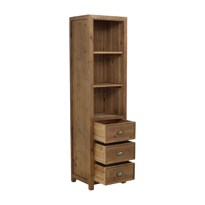 Stone & Beam Bryson Tall Narrow 3-Drawer Bookcase Stone & Beam