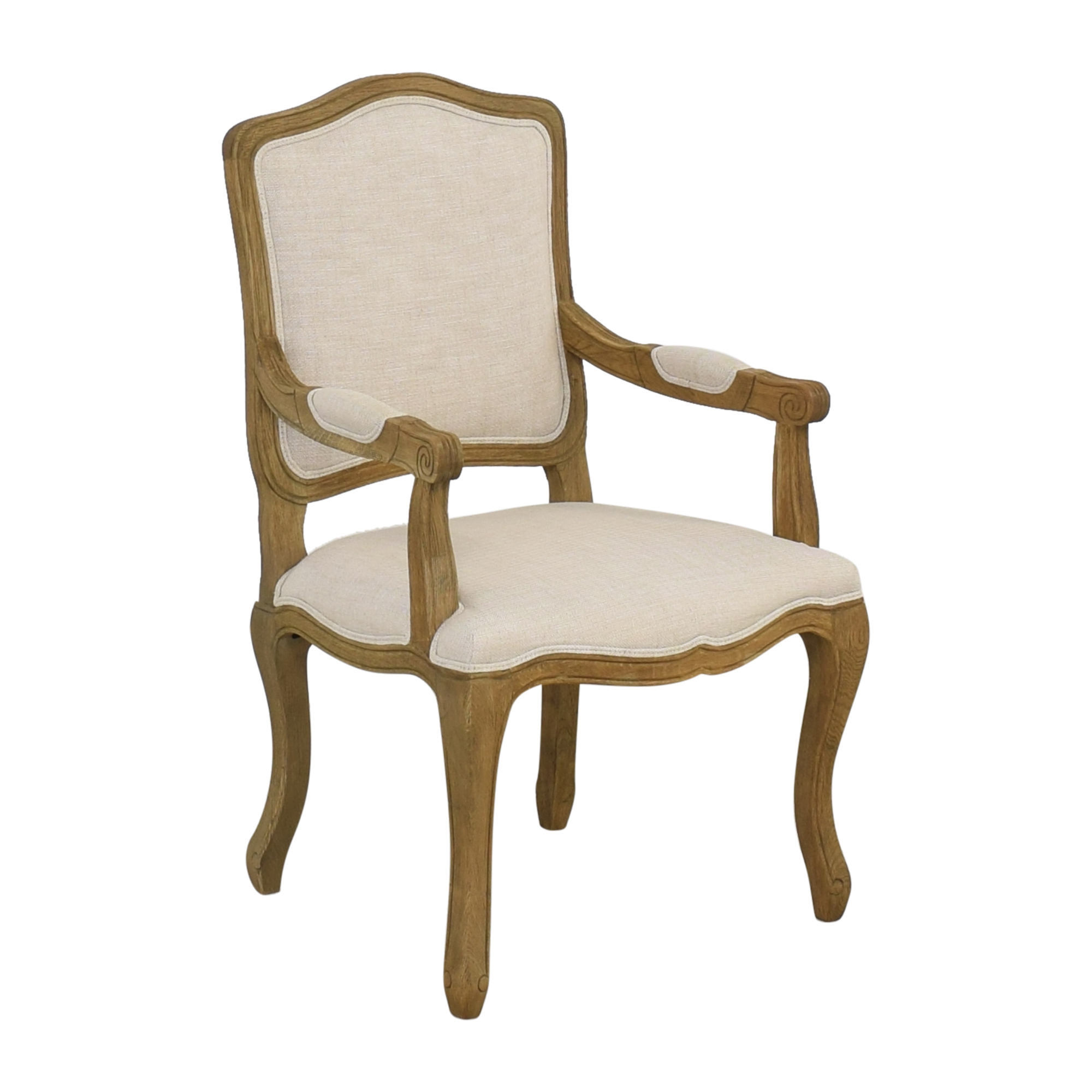 Restoration Hardware Restoration Hardware Vintage French Camelback Fabric Armchair coupon
