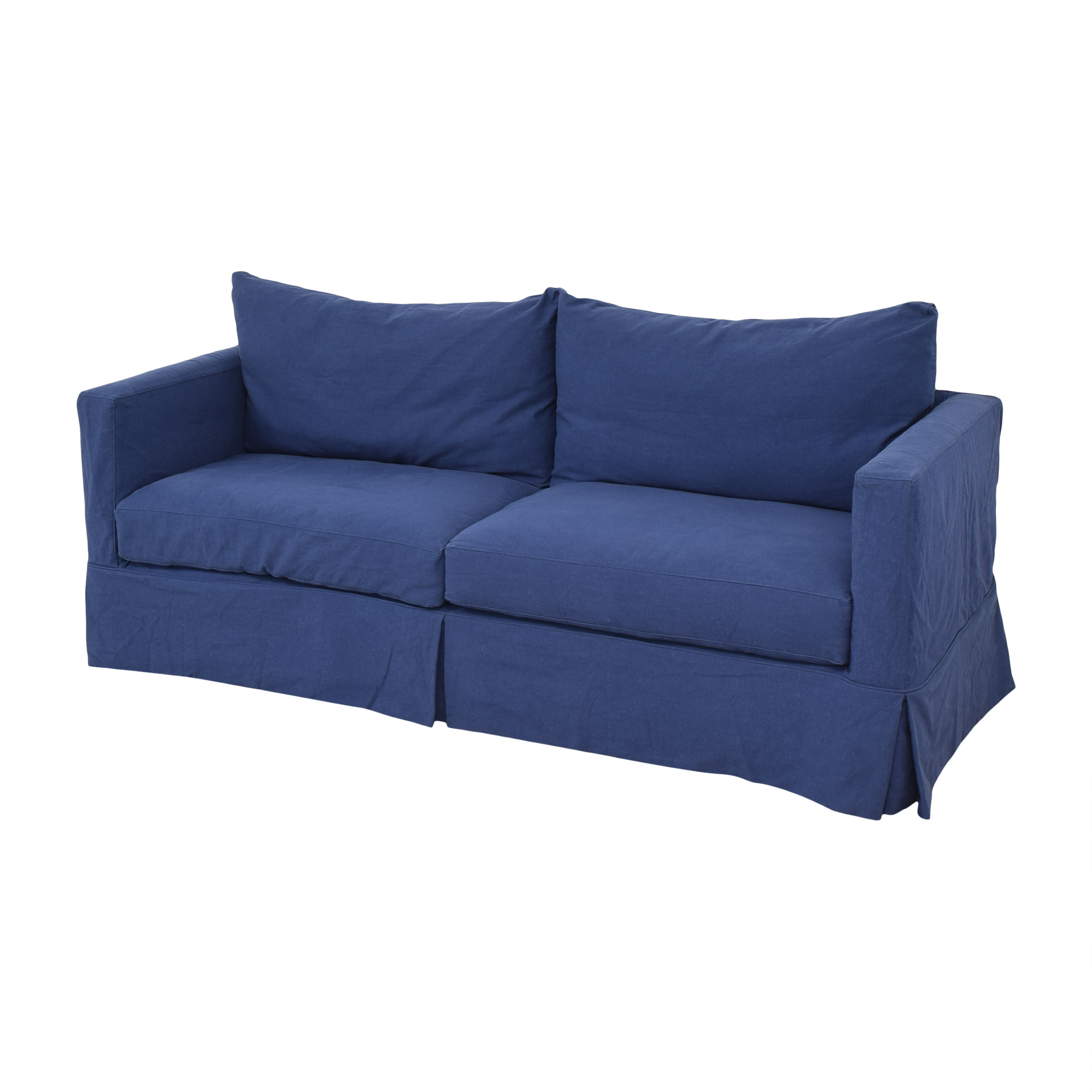 Crate & Barrel Willow Modern Slipcovered Sofa / Classic Sofas