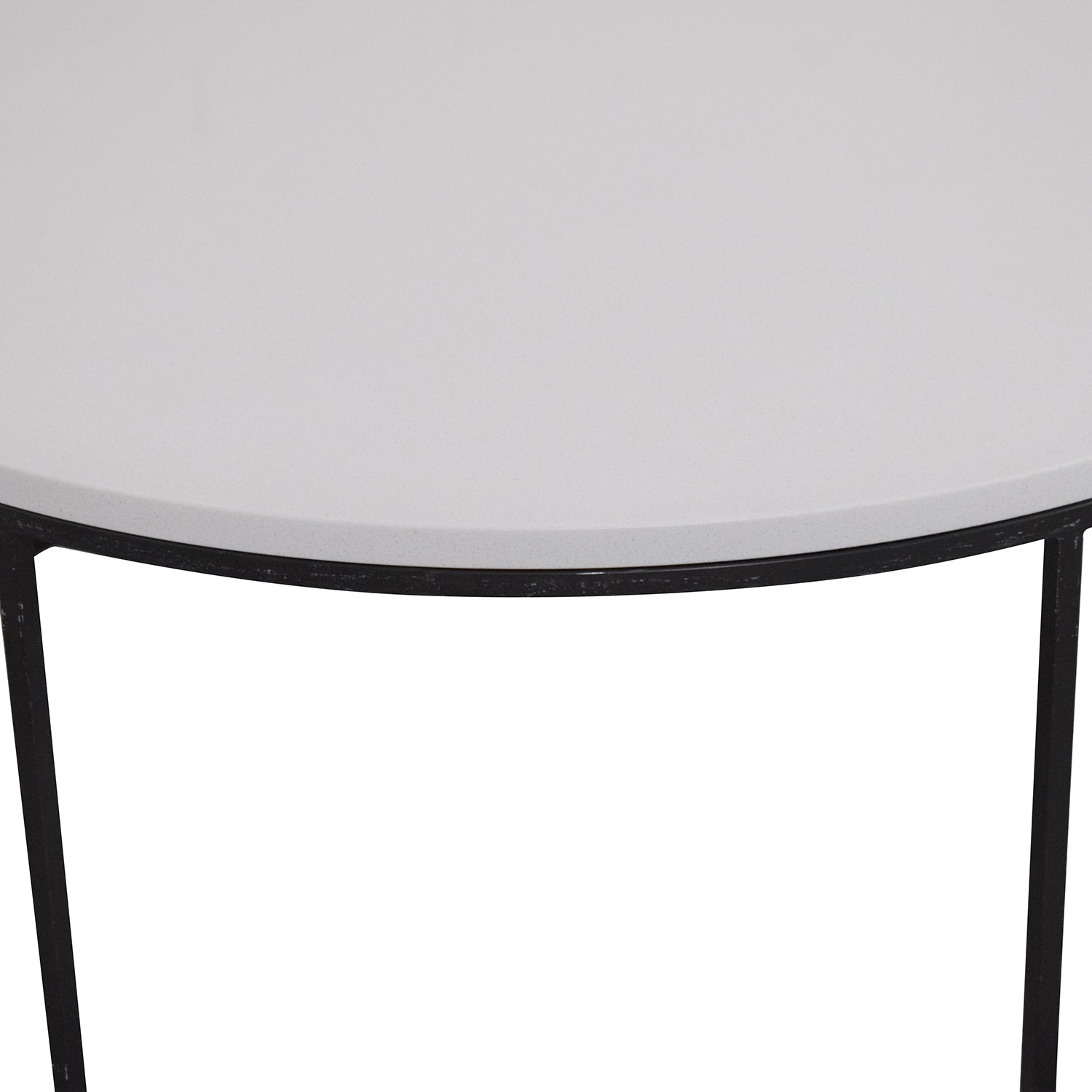 42 Off West Elm West Elm Streamline Round Coffee Table Tables