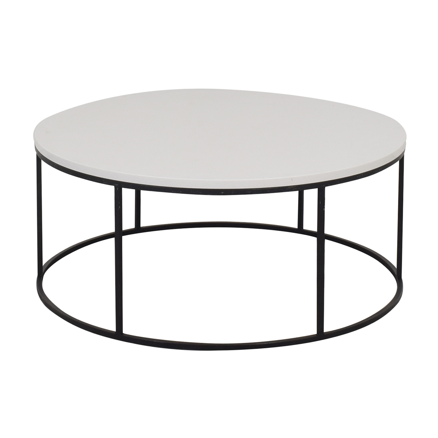 West Elm West Elm Streamline Round Coffee Table coupon