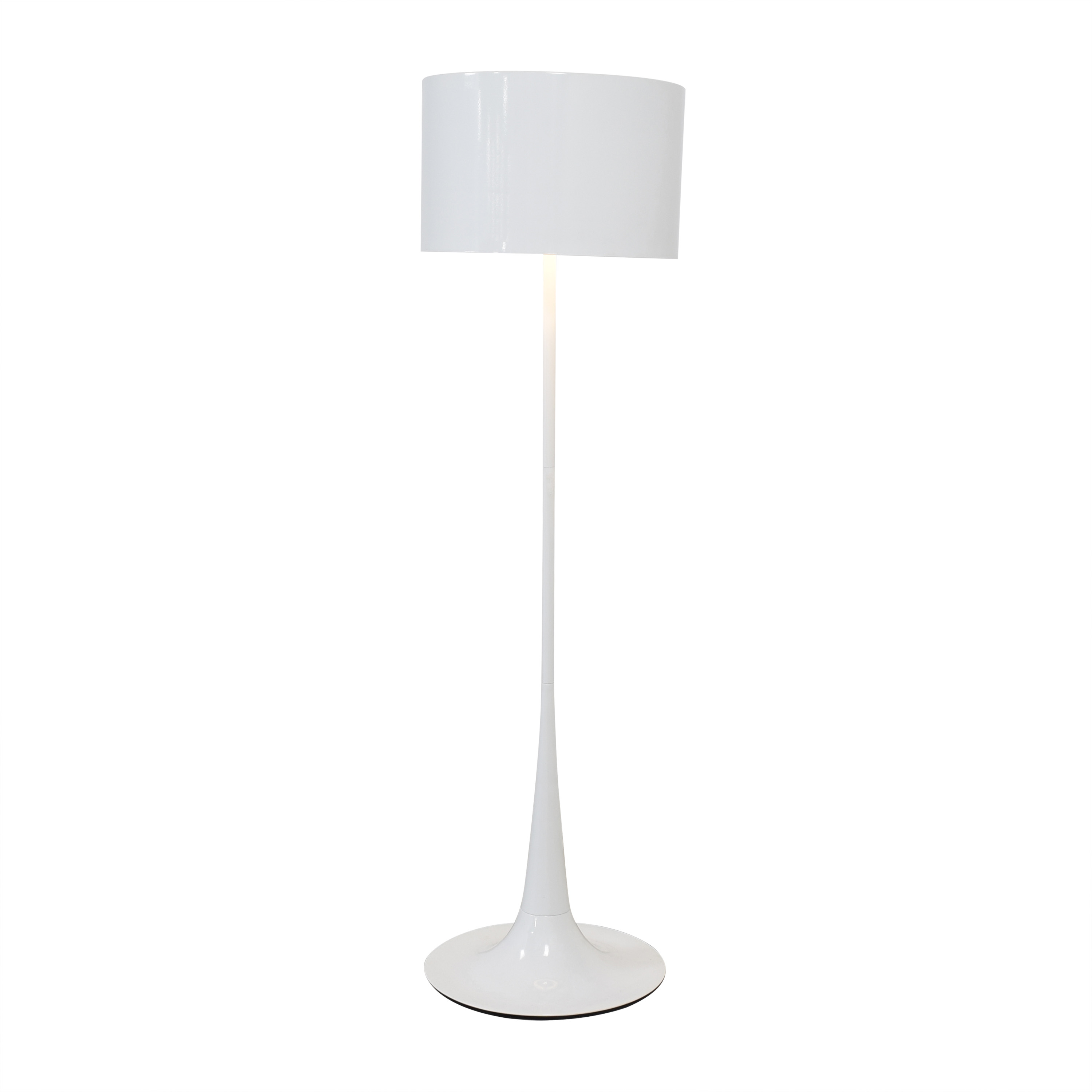 buy France & Son White Floor Lamp France and Son Lamps