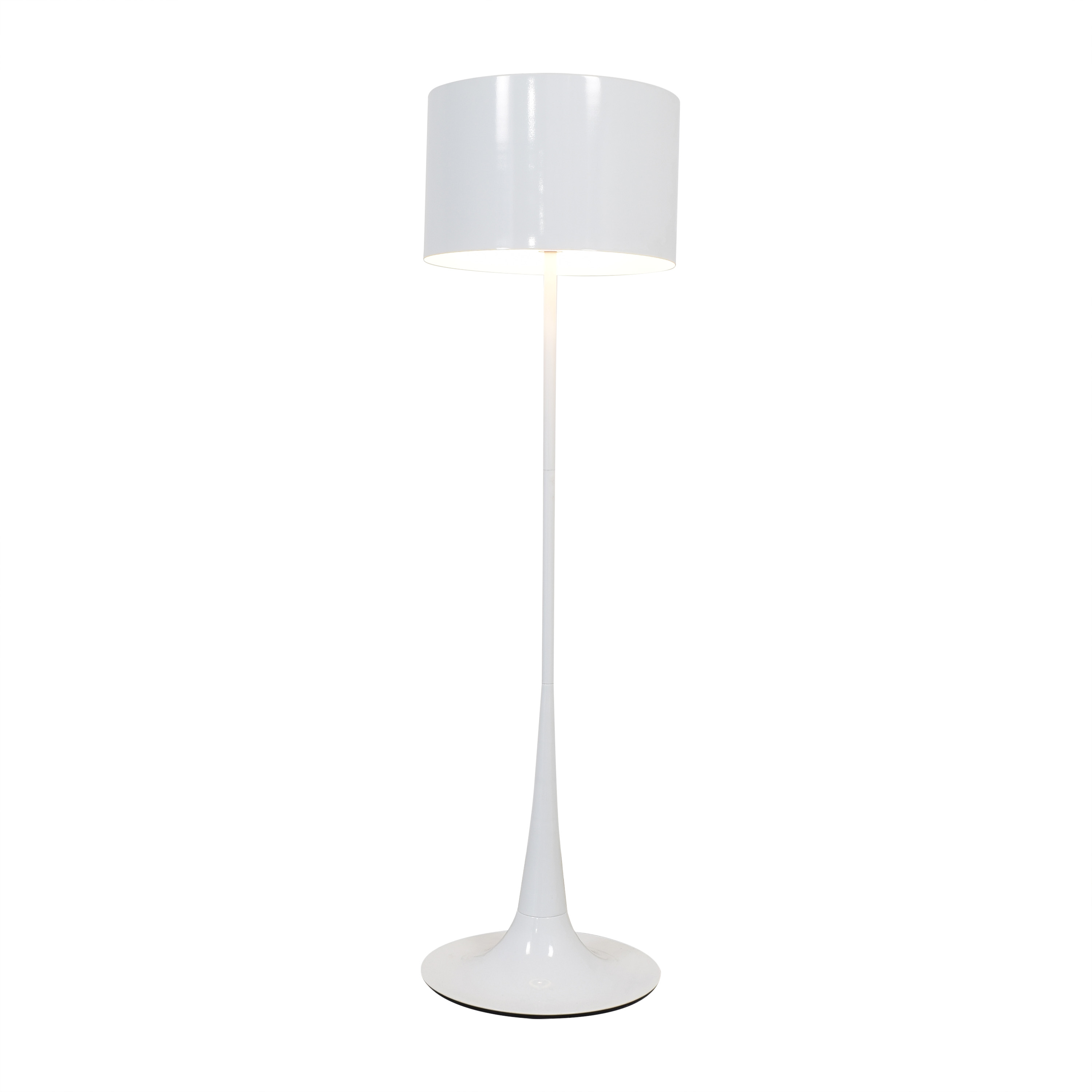 France and Son France & Son White Floor Lamp ct