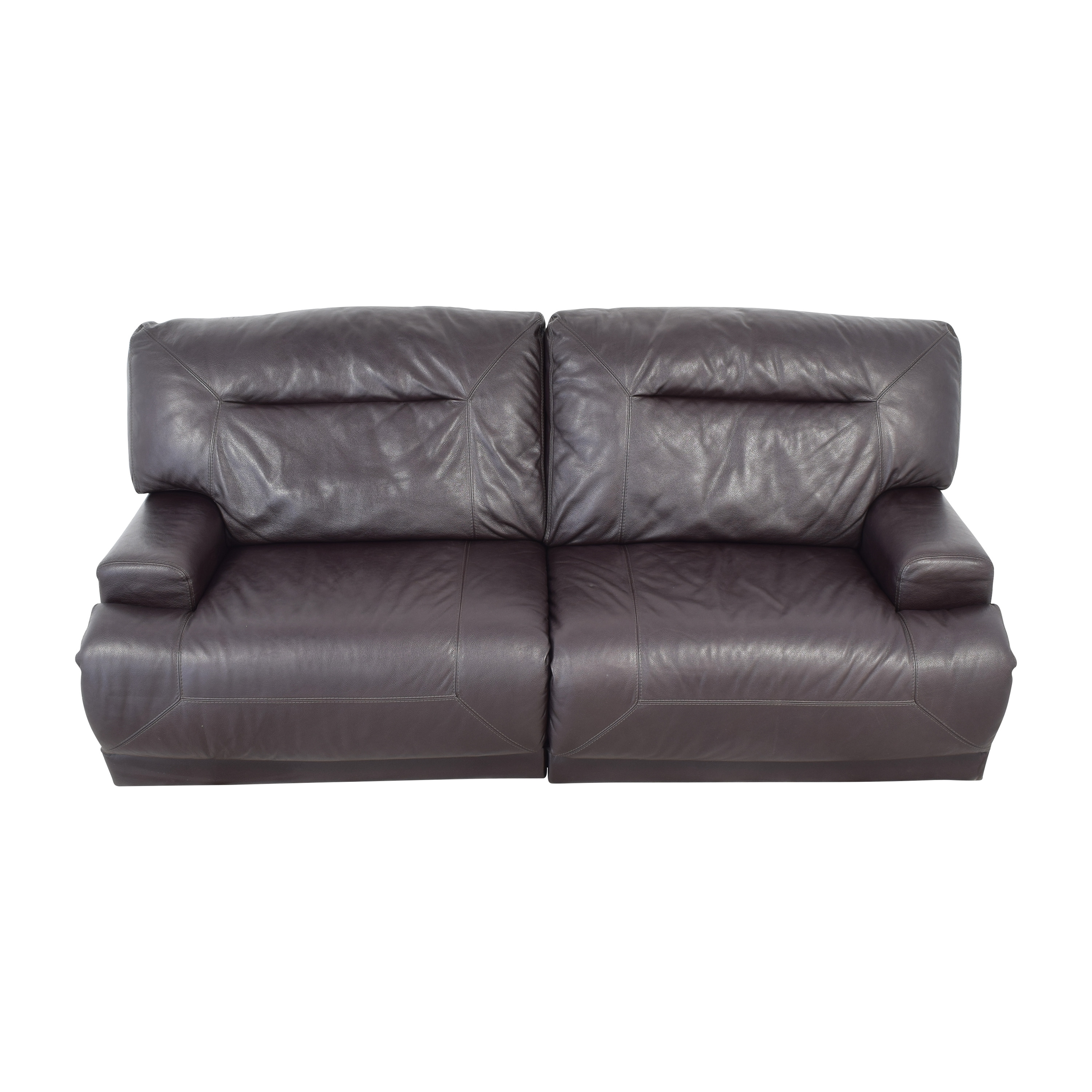 Macy's Macy's Reclining Sofa for sale