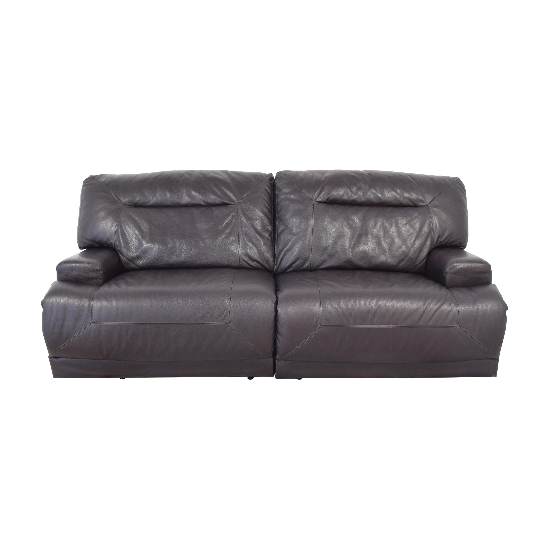 Macy's Reclining Sofa sale