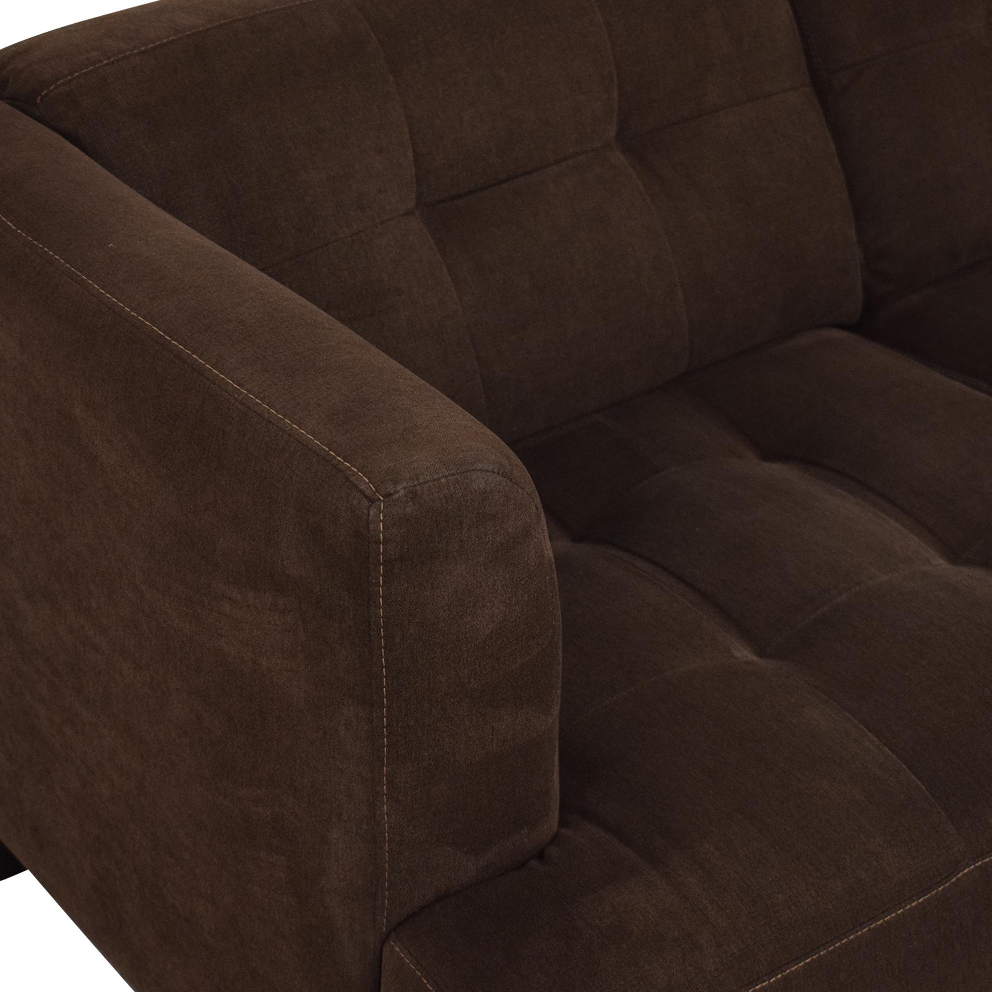Macy's Macy's Jonathan Louis Three Cushion Sofa on sale