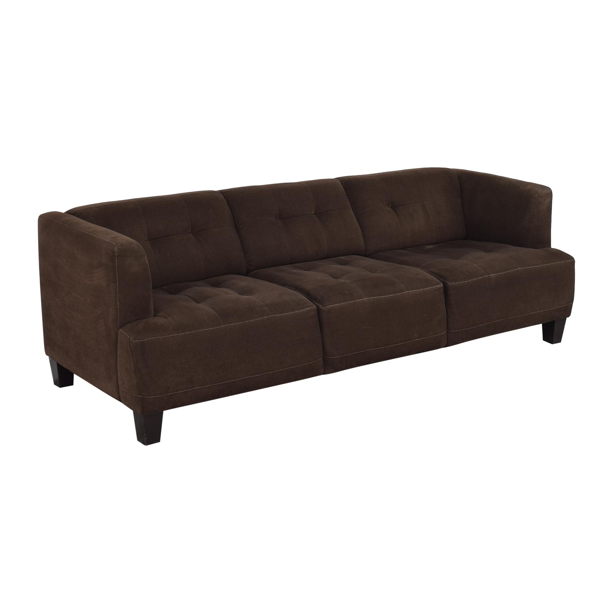 shop Macy's Macy's Jonathan Louis Three Cushion Sofa online