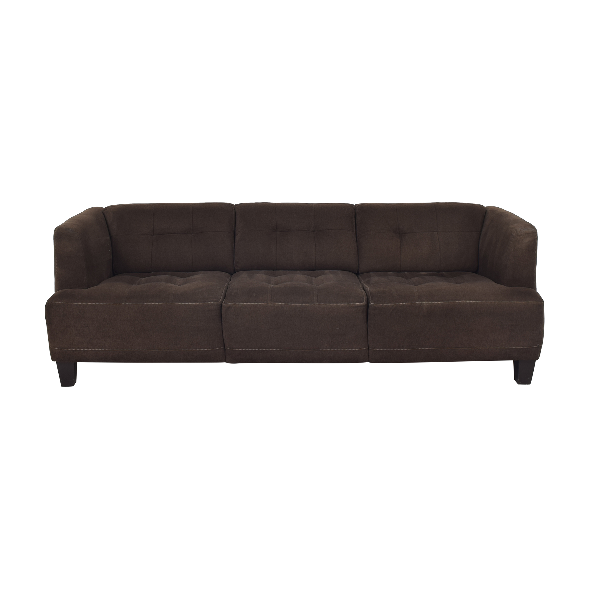 Macy's Macy's Jonathan Louis Three Cushion Sofa coupon