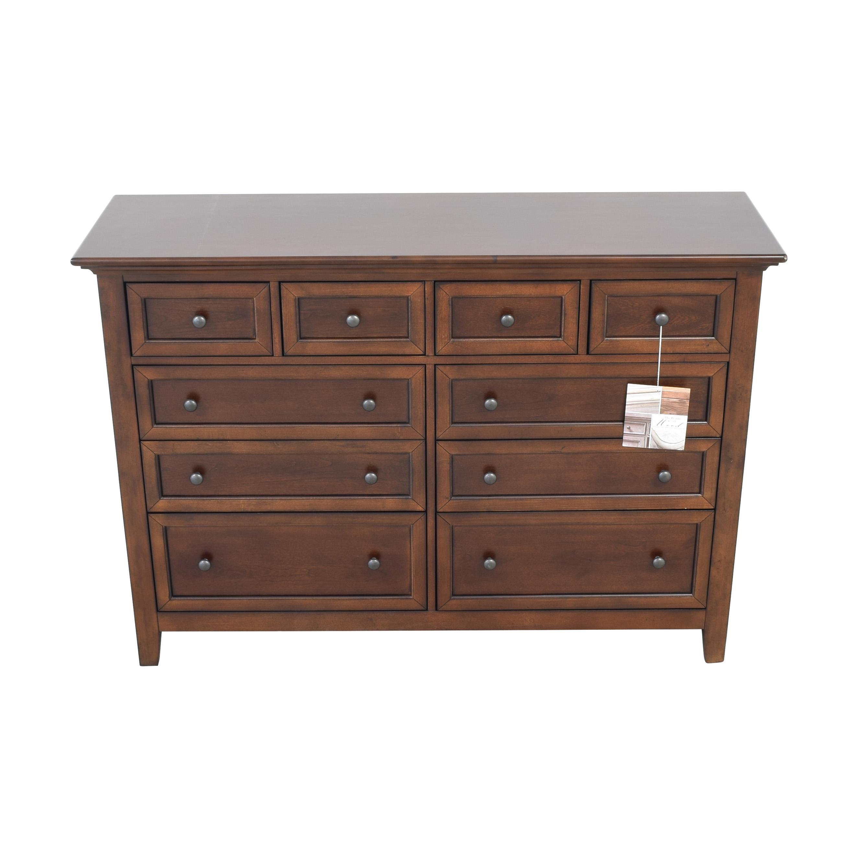 Macy's Macy's Sanibel Ten Drawer Dresser discount