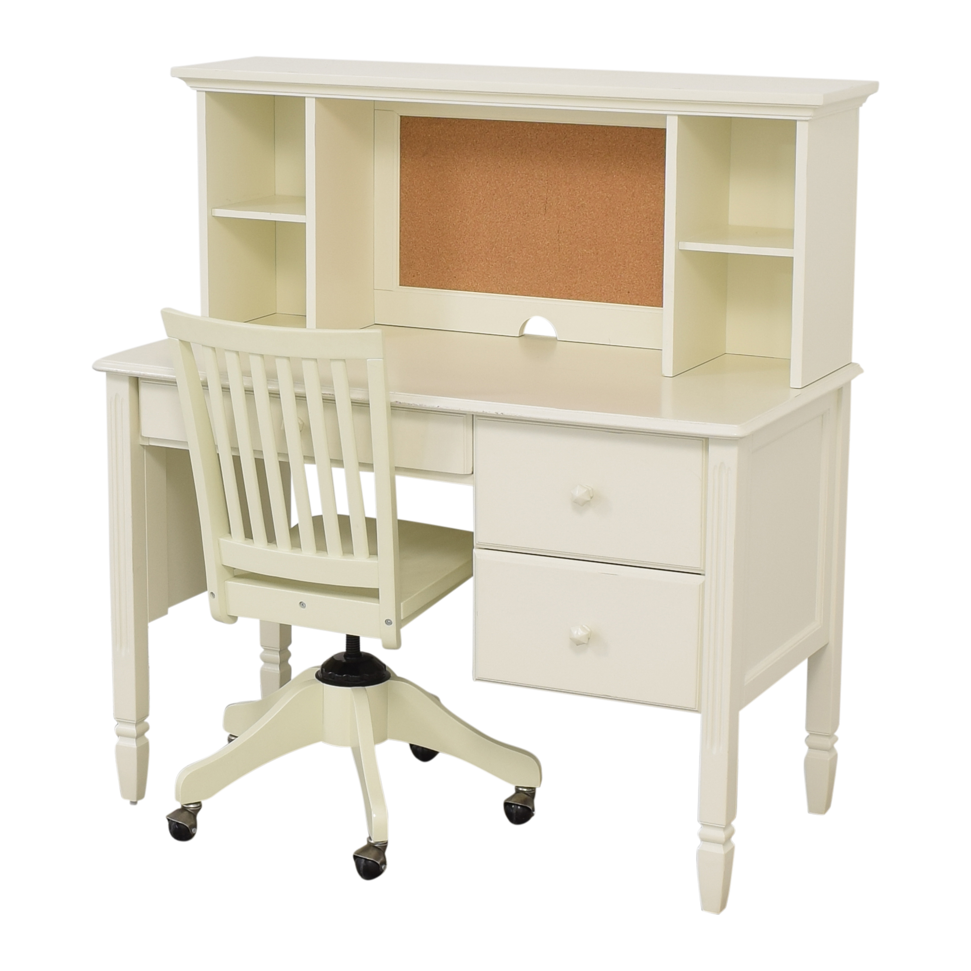 Pottery Barn Kids Madeline Desk and Hutch with Chair Pottery Barn Kids