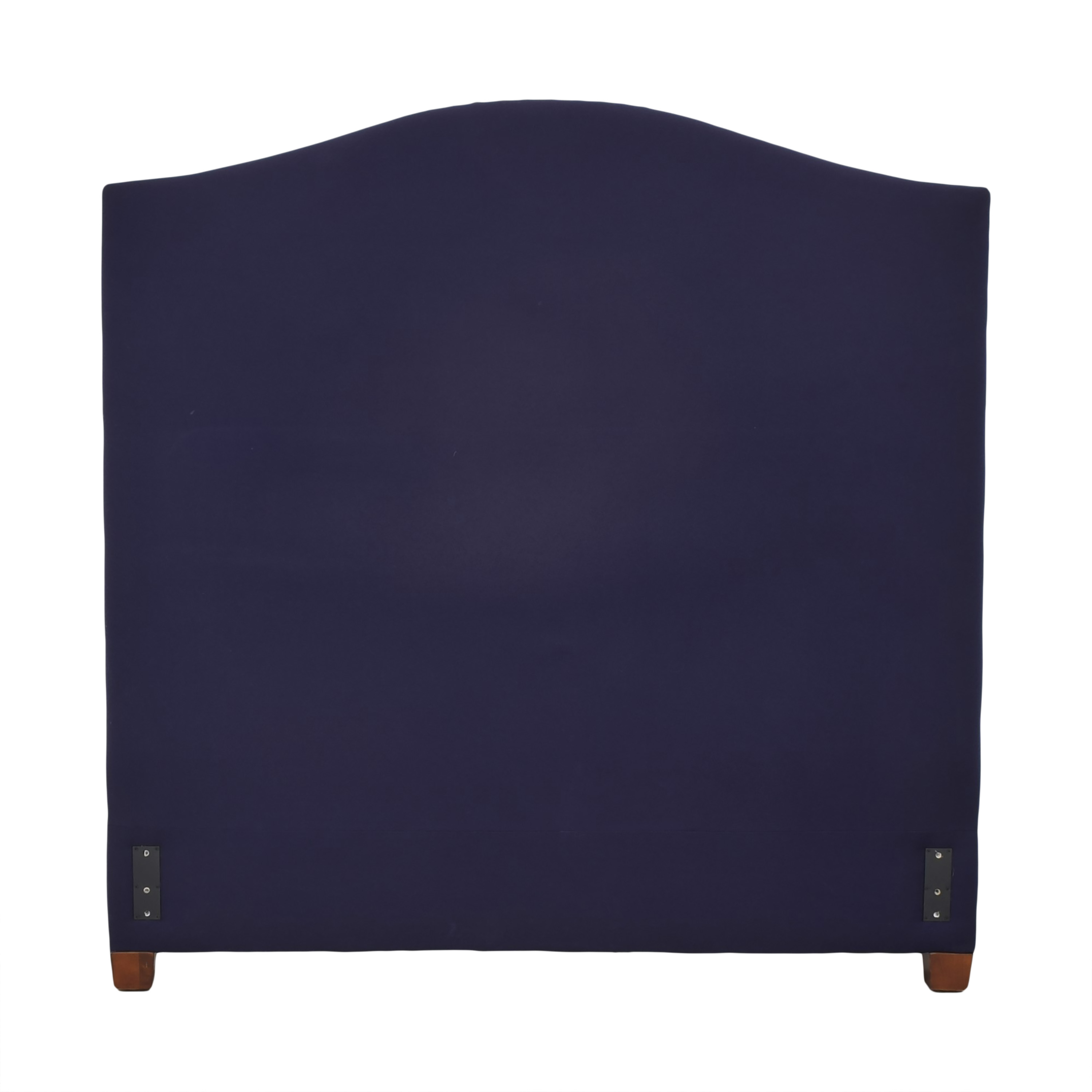 Pottery Barn Pottery Barn Raleigh Full Headboard dark blue