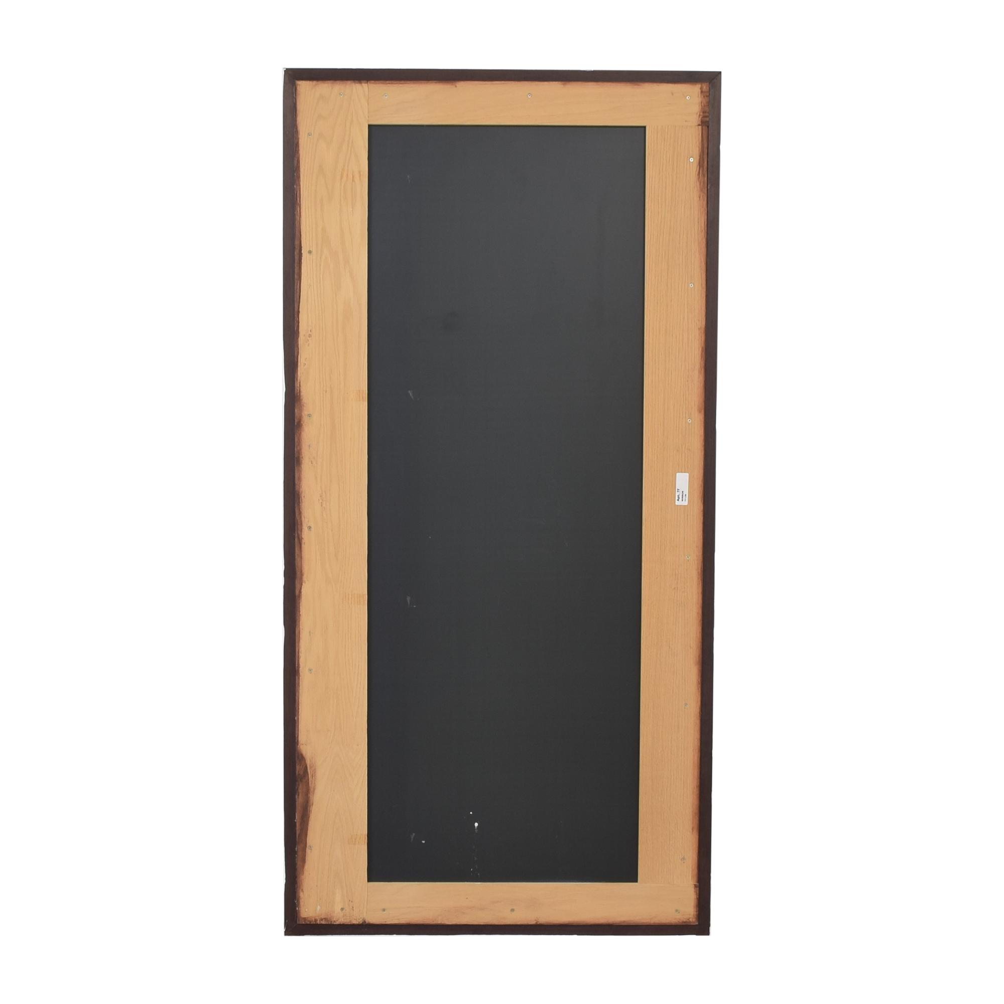 Tall Framed Mirror for sale