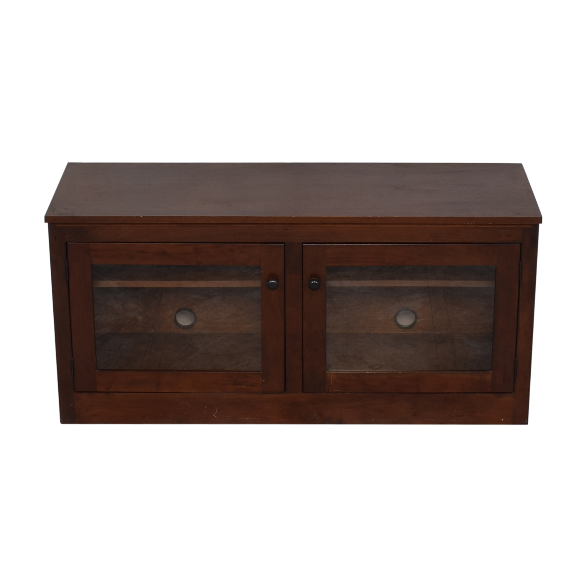 shop  Media Console with Glass Doors online