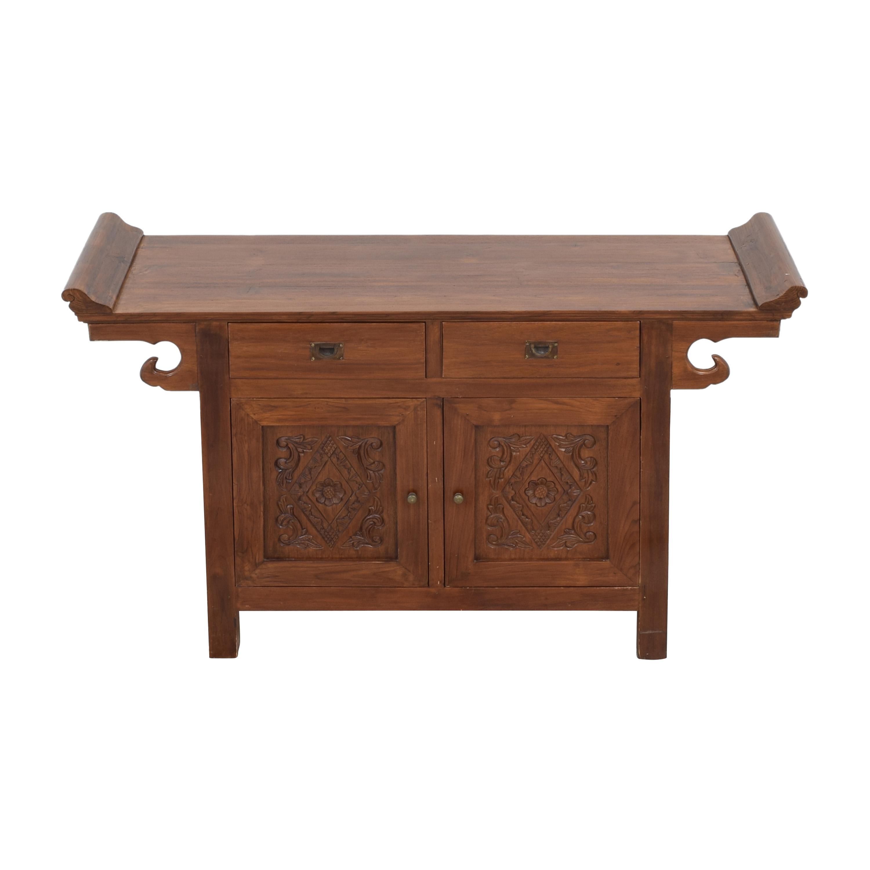 Balinese Teak Wood Hutch / Storage