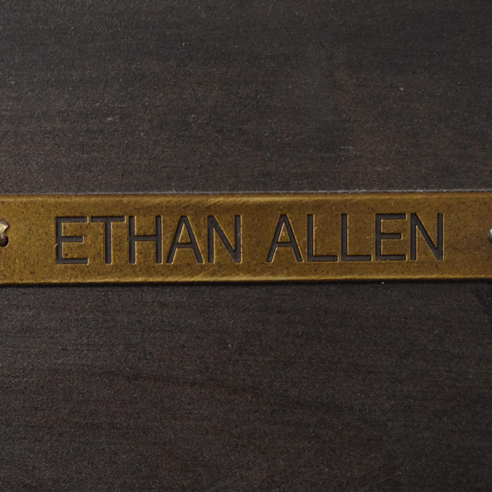 buy Ethan Allen Double Bookcase Ethan Allen