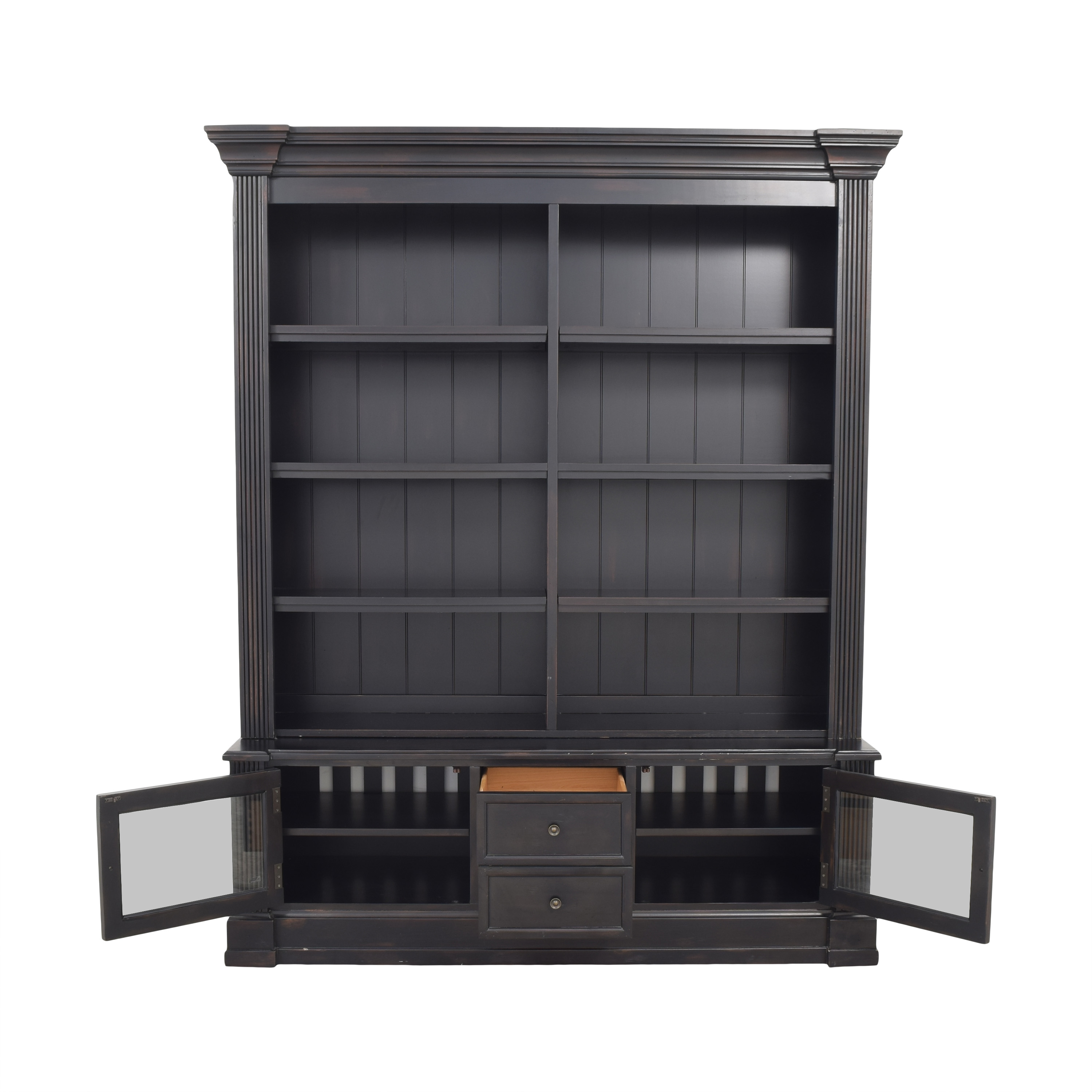 Ethan Allen Ethan Allen Bookcase with Cabinet ma